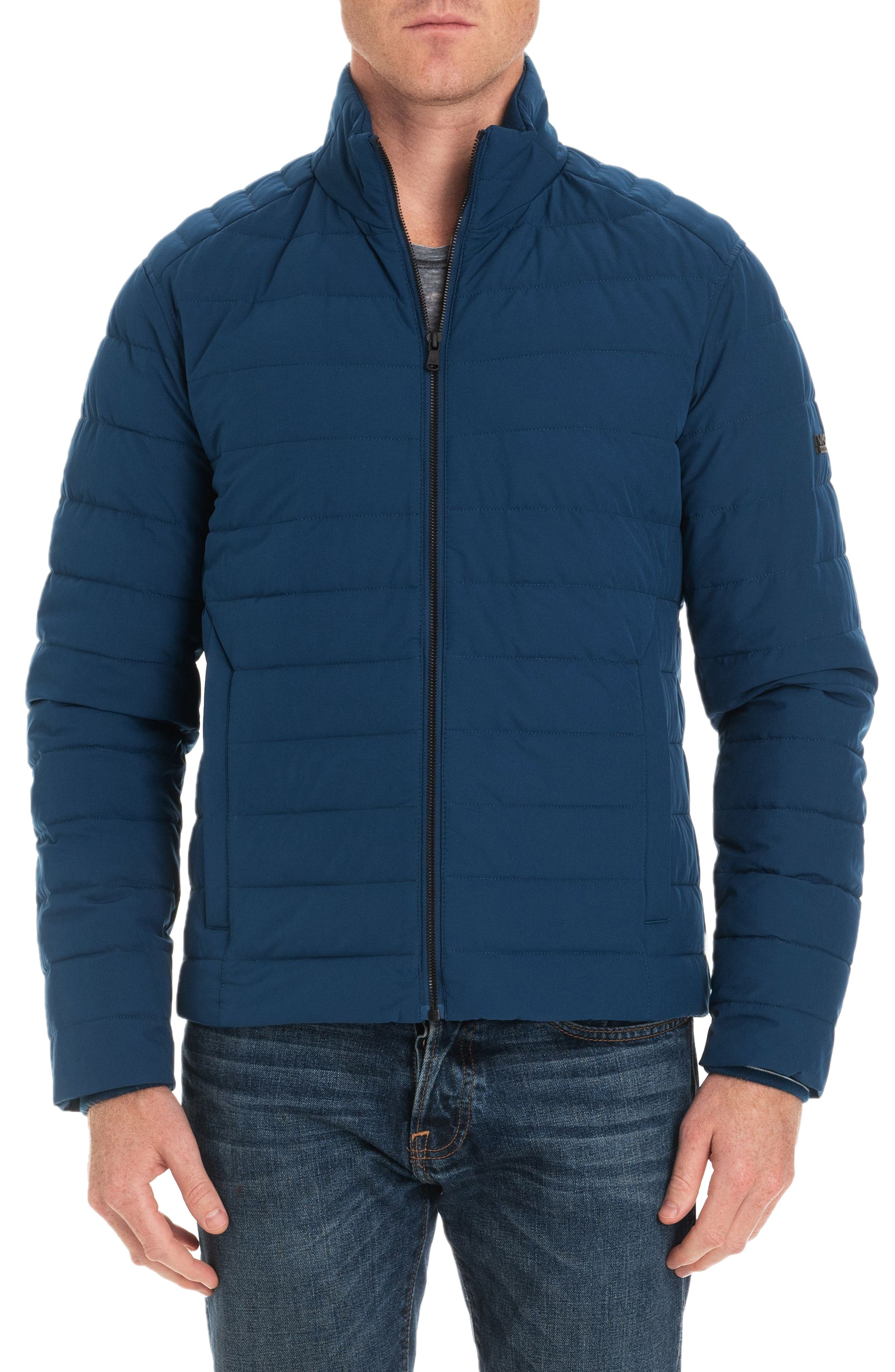 Michael Kors Fulton Quilted Jacket, Blue