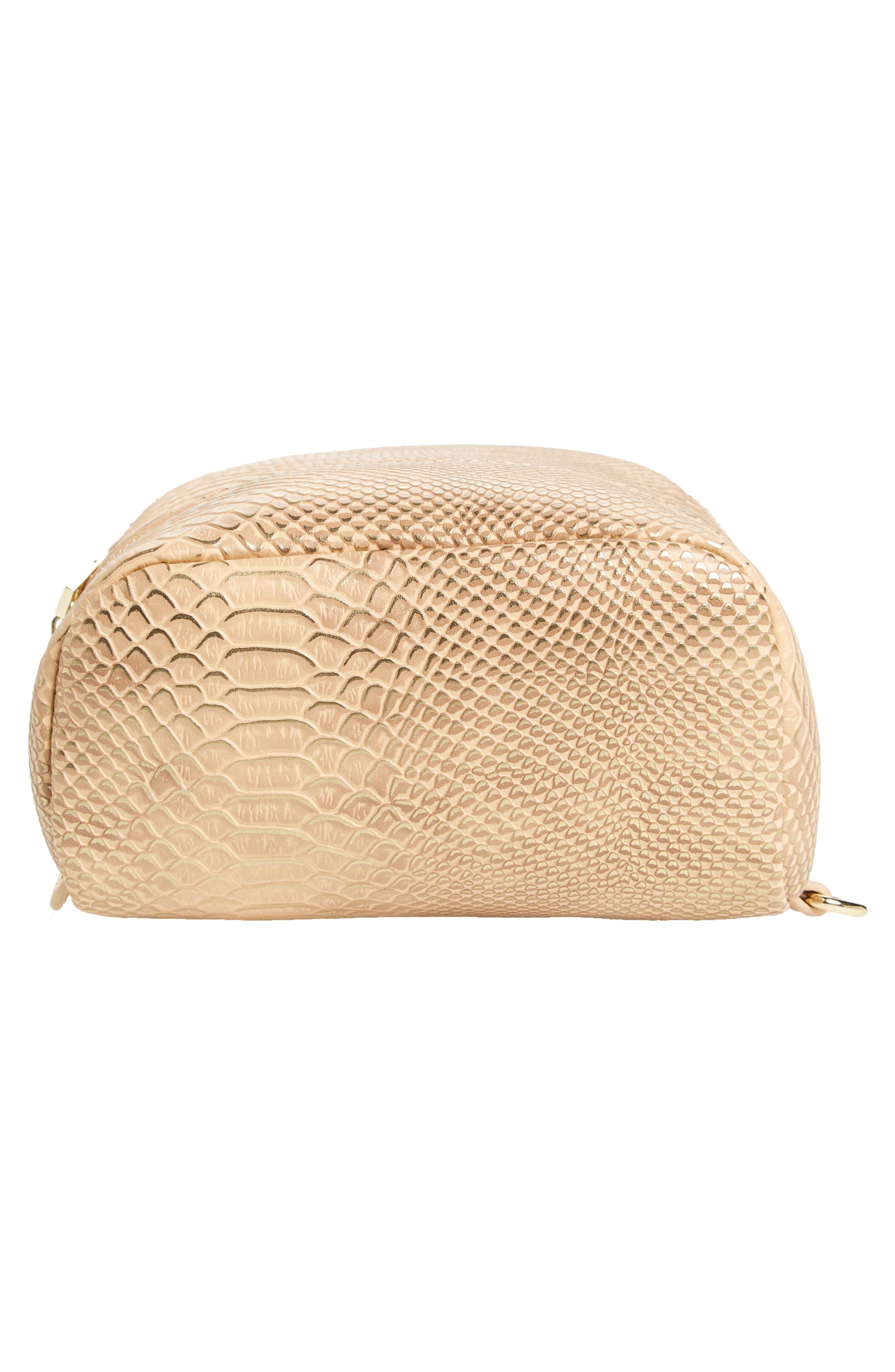 Colette Faux Leather Backpack,                             Alternate thumbnail 6, color,                             250