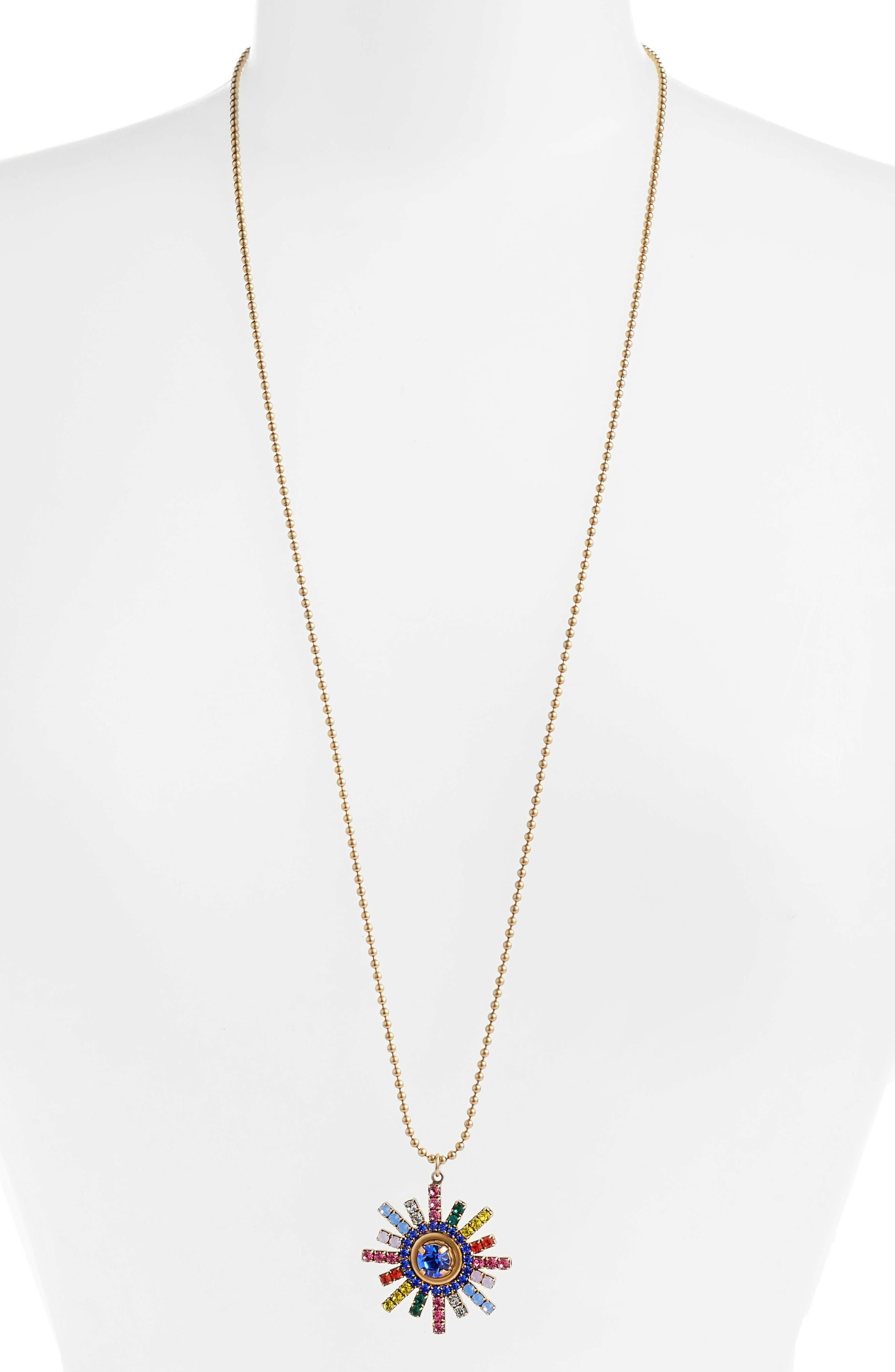 Isabel Pendant Necklace,                         Main,                         color, 710