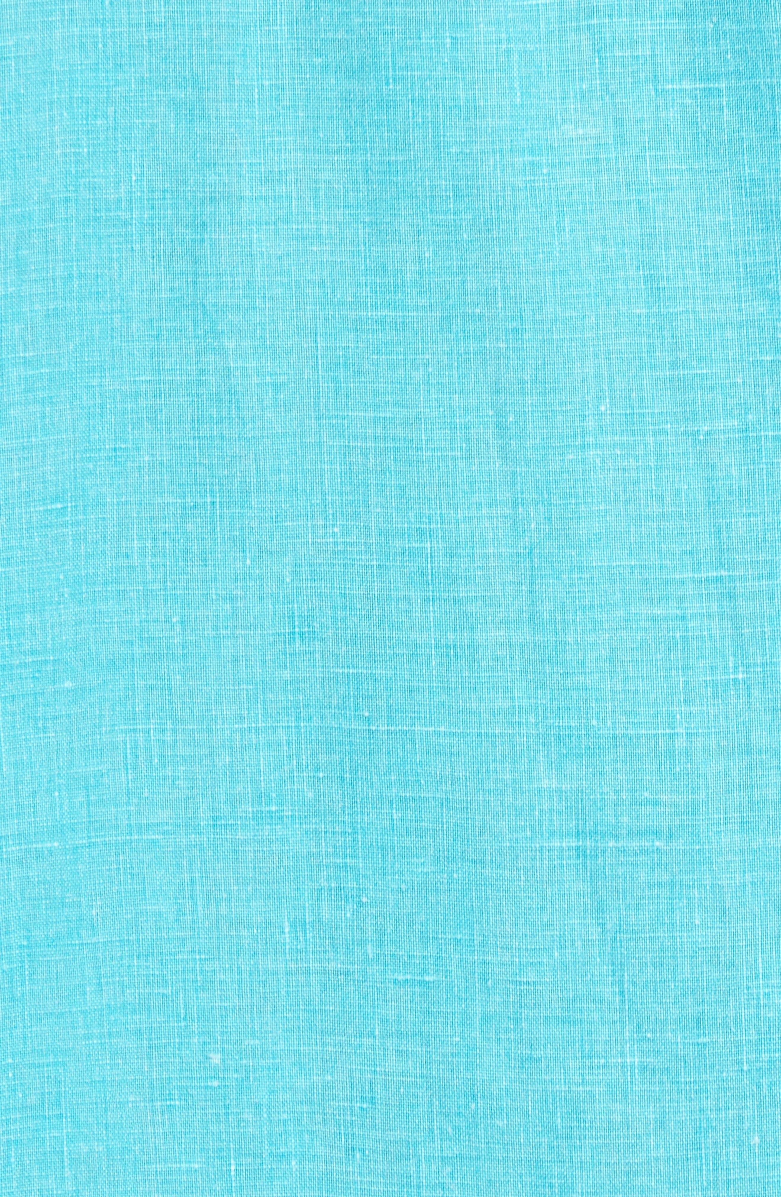 Seaglass Breezer Short Sleeve Linen Sport Shirt,                             Alternate thumbnail 43, color,