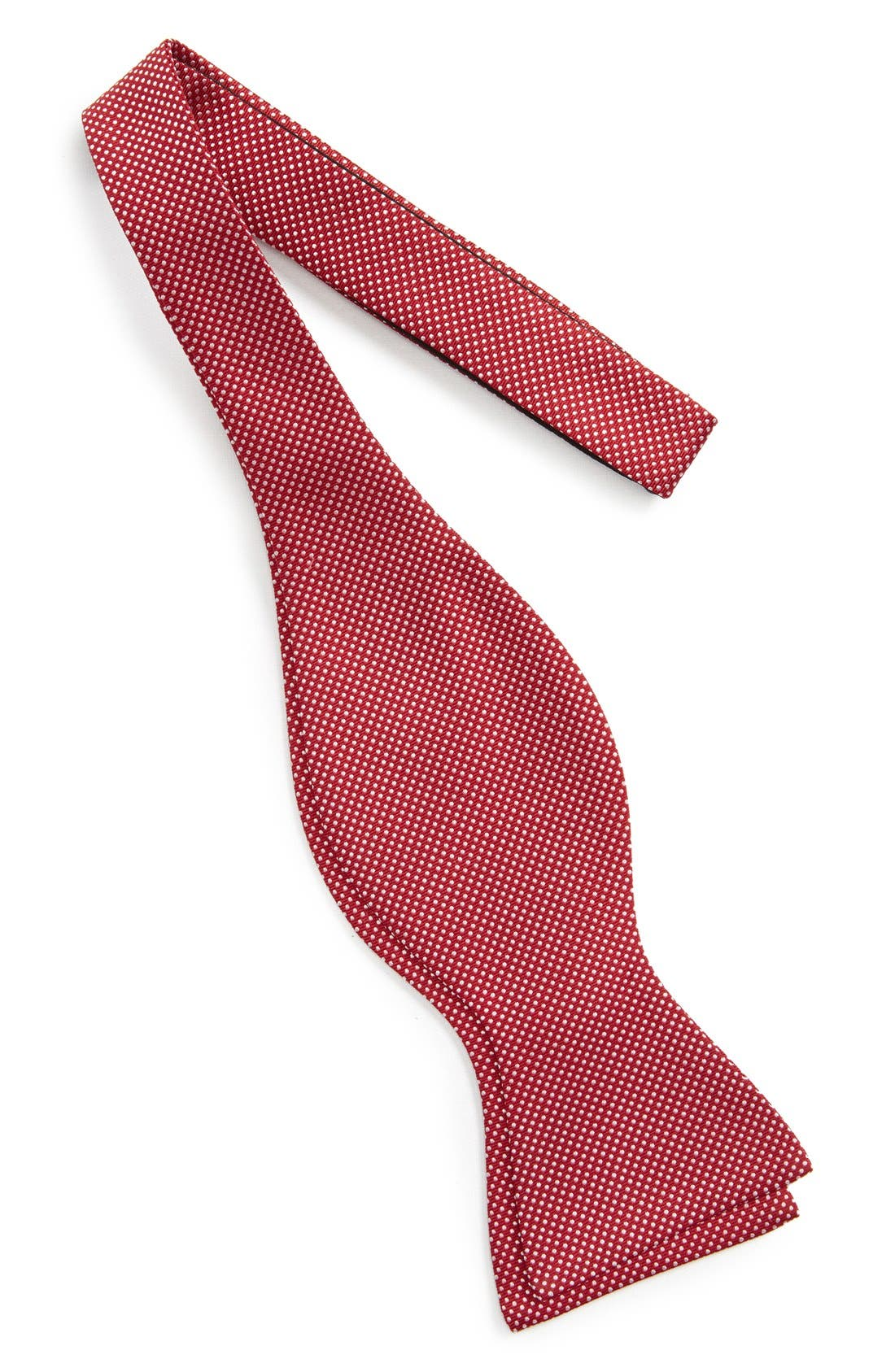 Dot Silk Bow Tie,                             Alternate thumbnail 18, color,