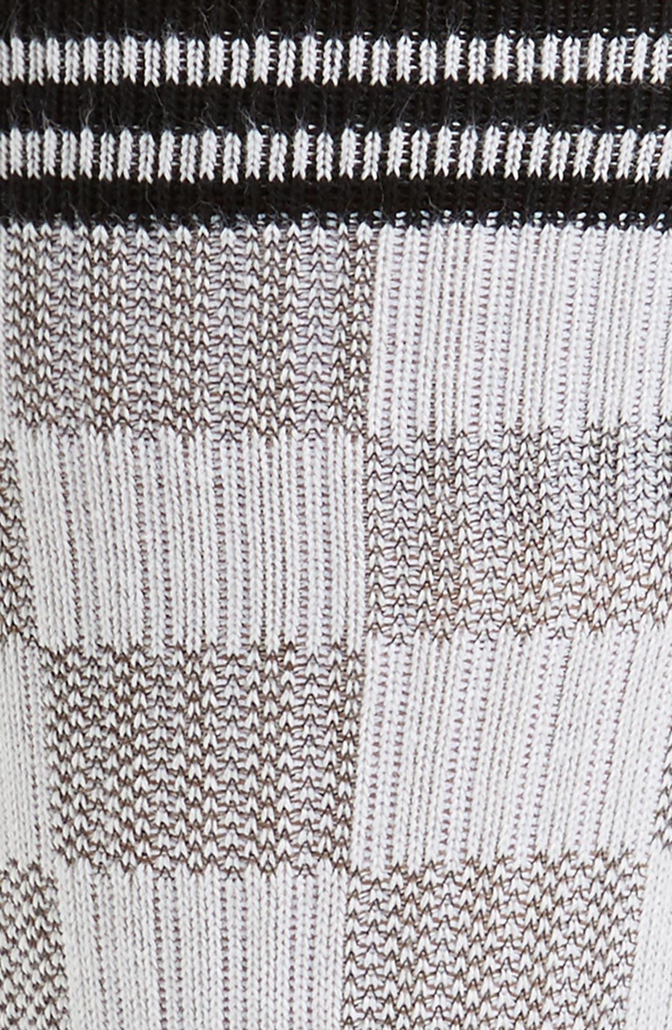 Caged Socks,                             Alternate thumbnail 2, color,                             WHITE