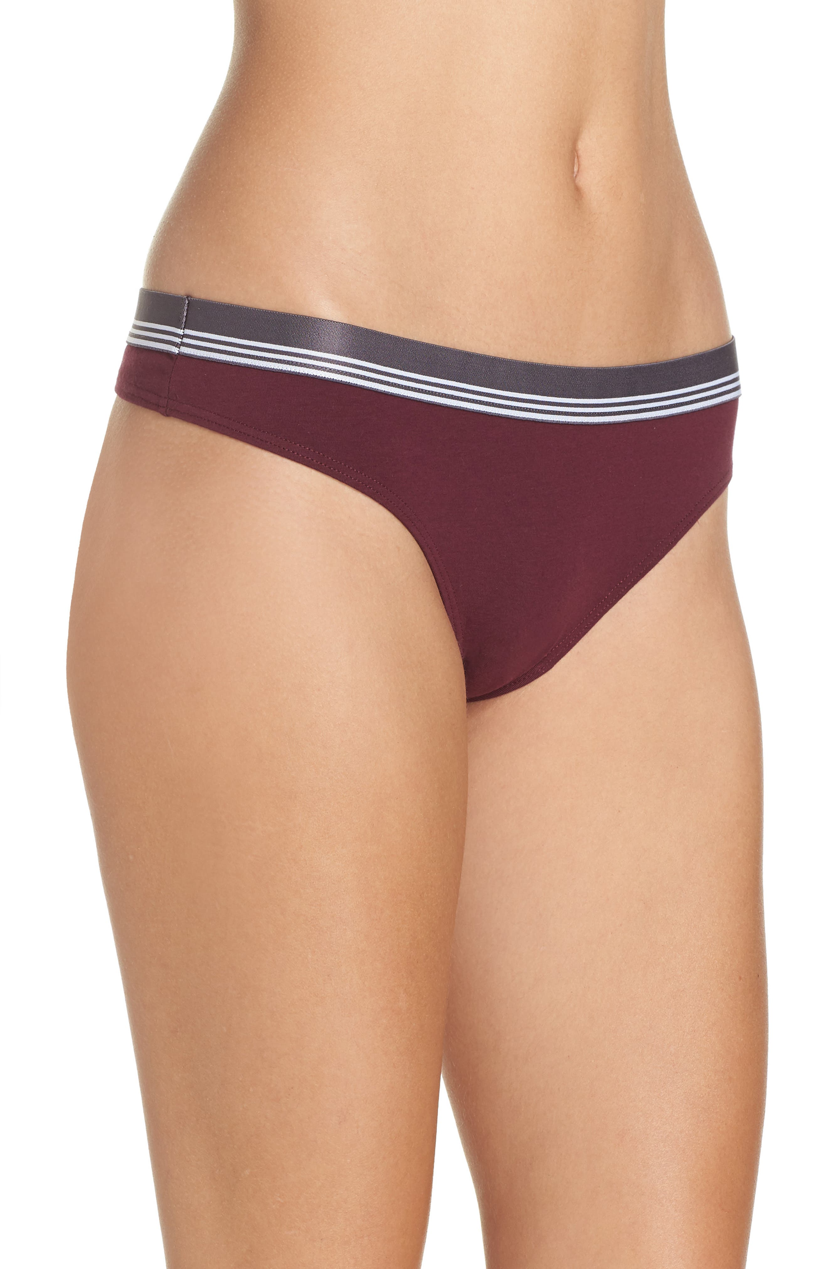 Sporty Thong,                             Alternate thumbnail 3, color,                             930