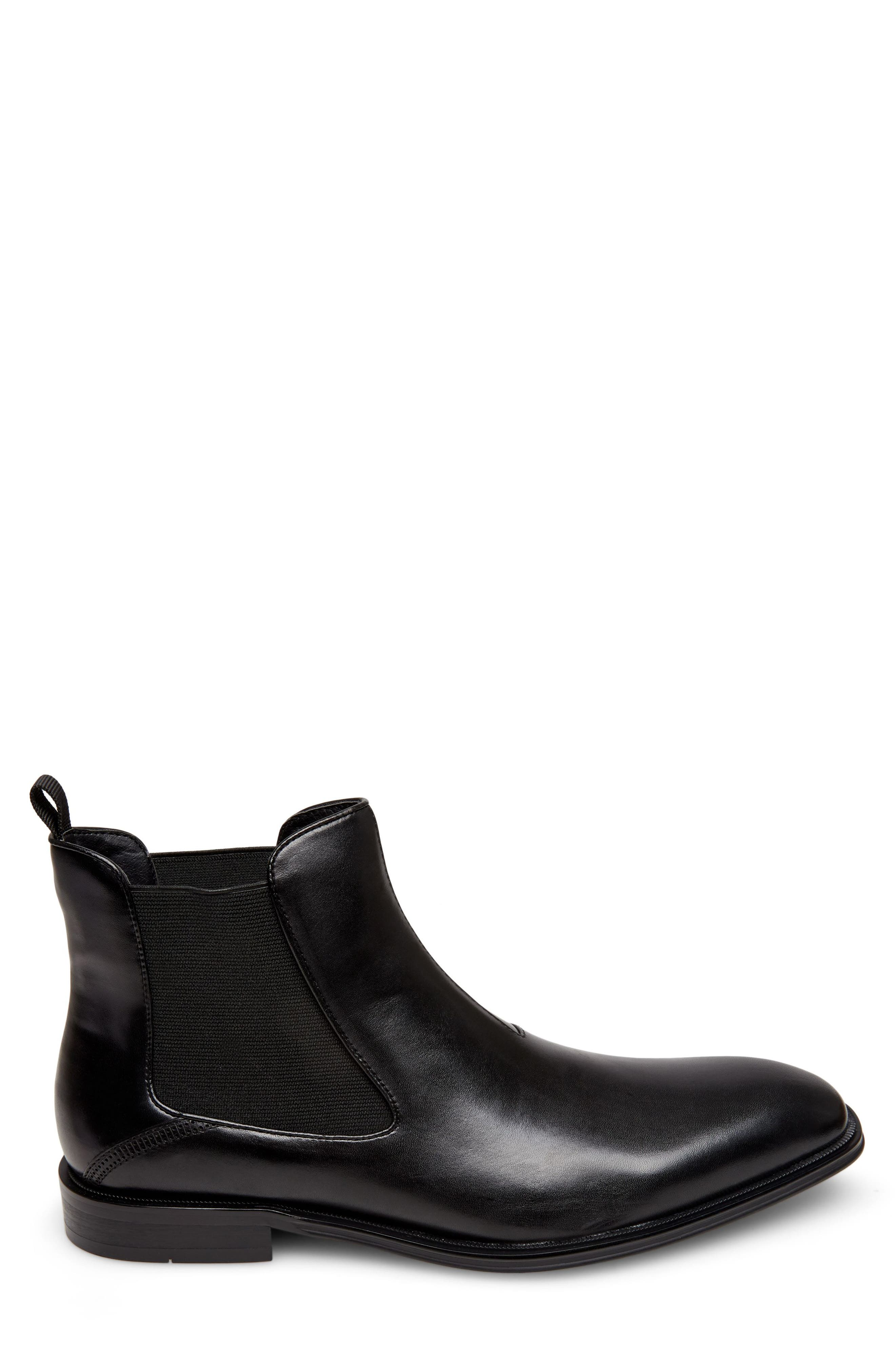Malice Chelsea Boot,                             Alternate thumbnail 3, color,                             BLACK LEATHER