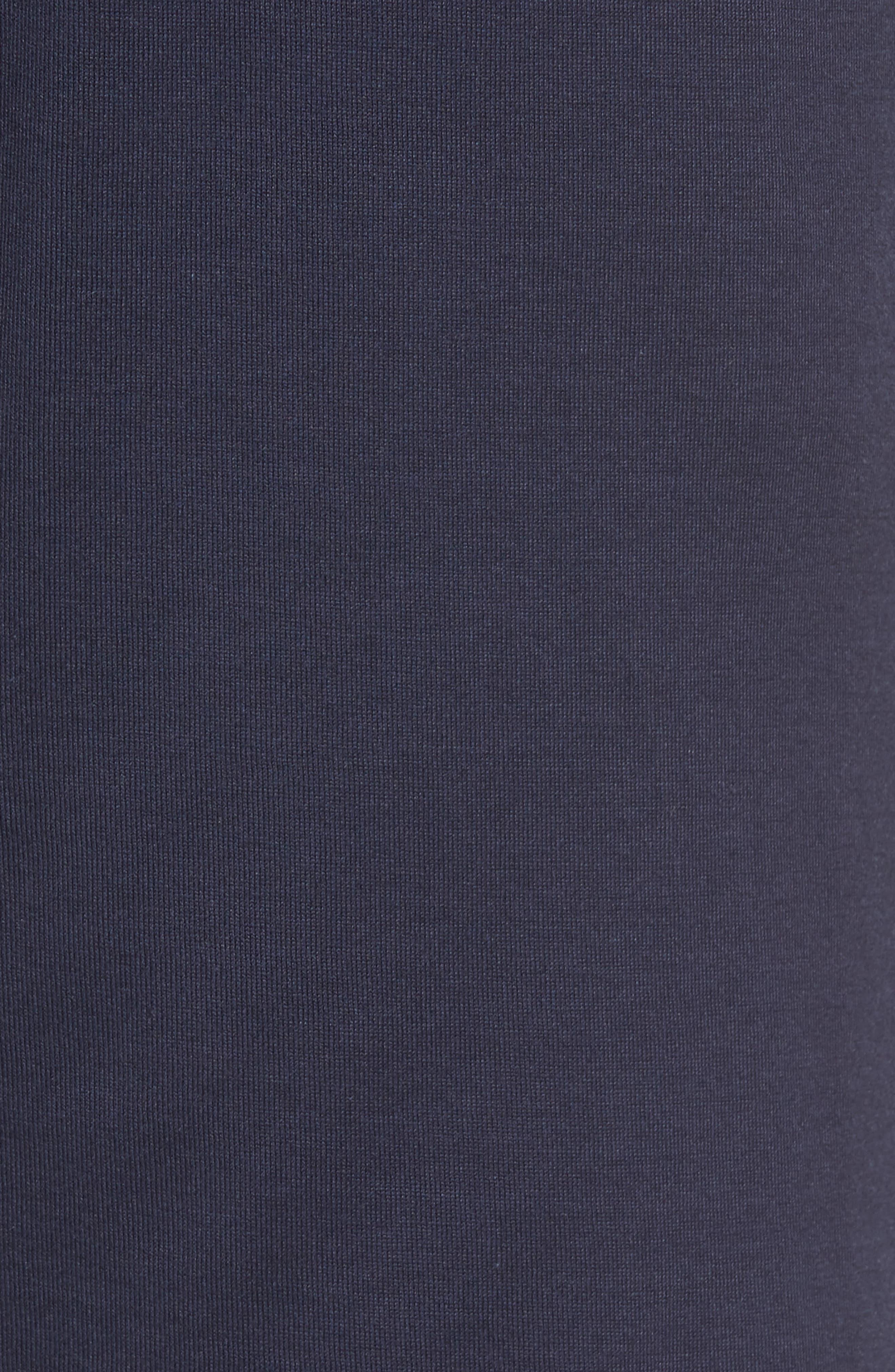 Night & Day Knit Shorts,                             Alternate thumbnail 5, color,                             BLACK IRIS