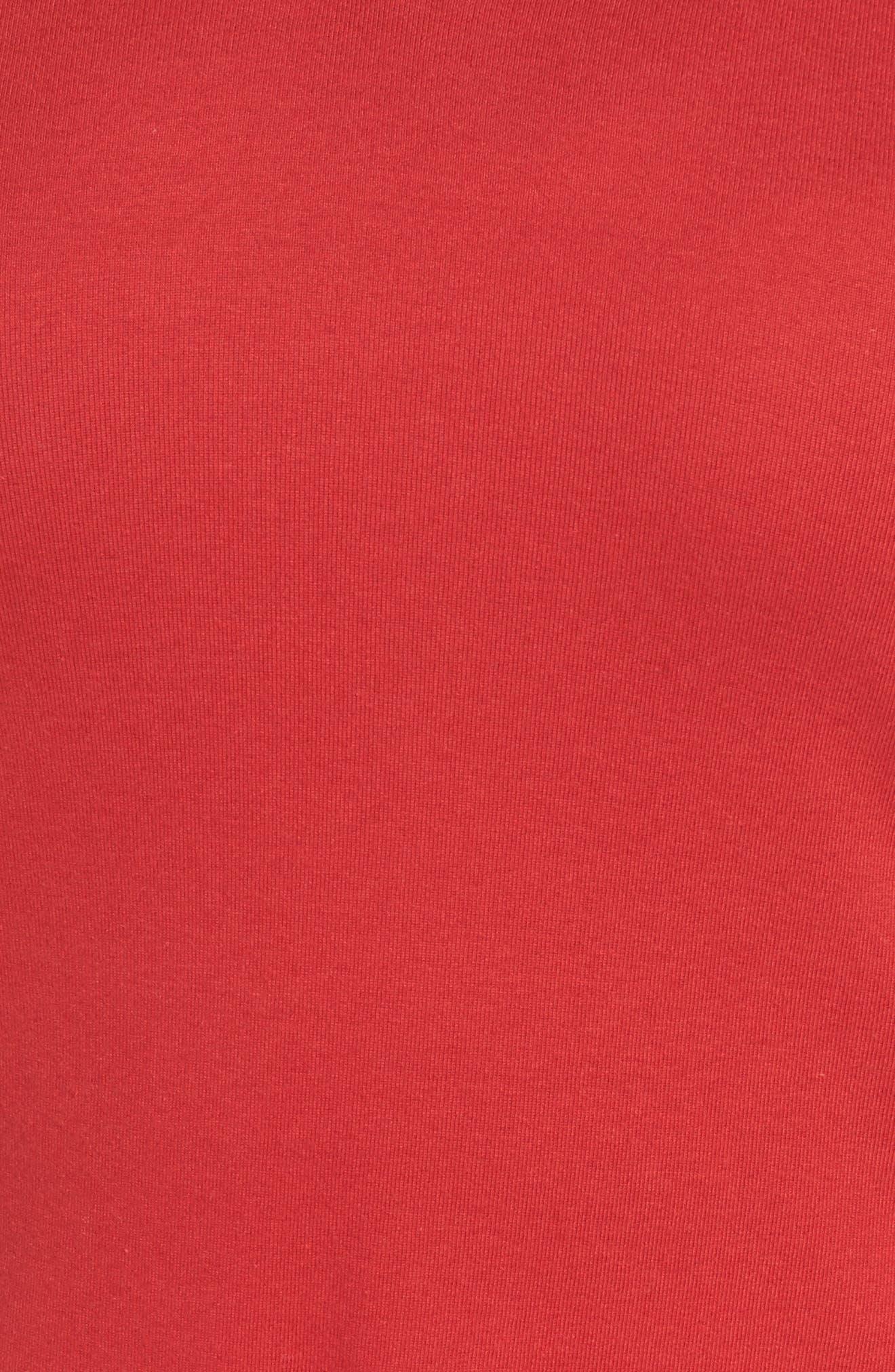Short Sleeve V-Neck Tee,                             Alternate thumbnail 163, color,