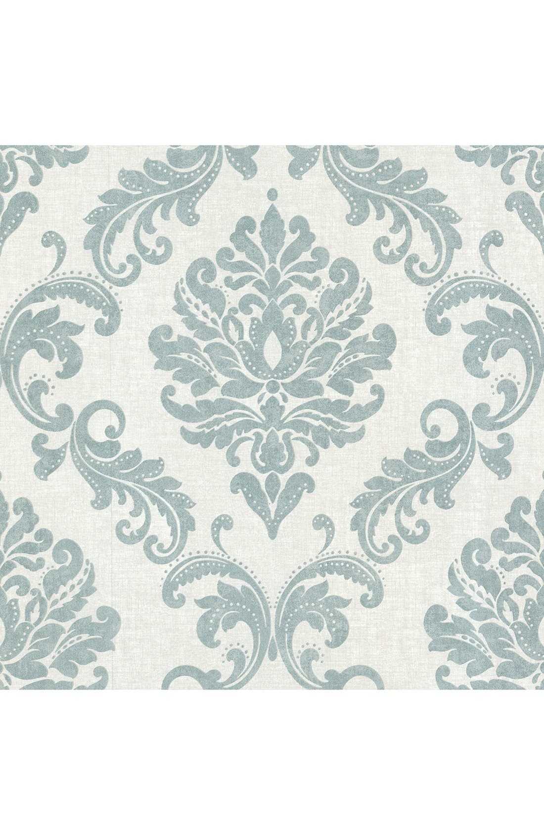 'Sebastion Damask' Unpasted Wallpaper,                             Main thumbnail 2, color,