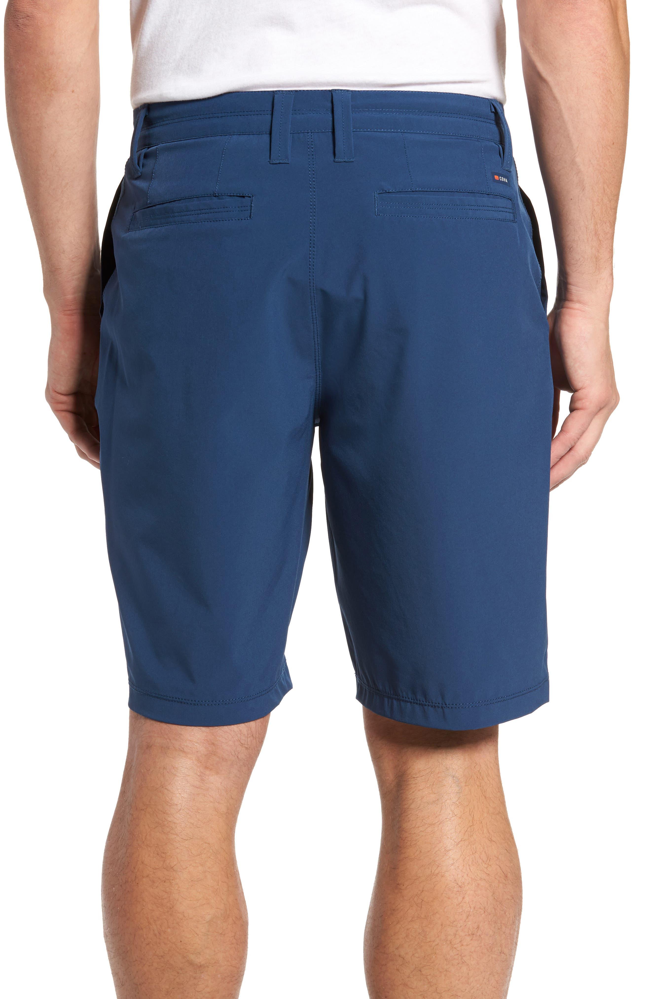 Coast Regular Fit Hybrid Shorts,                             Alternate thumbnail 2, color,                             DEEP SEA