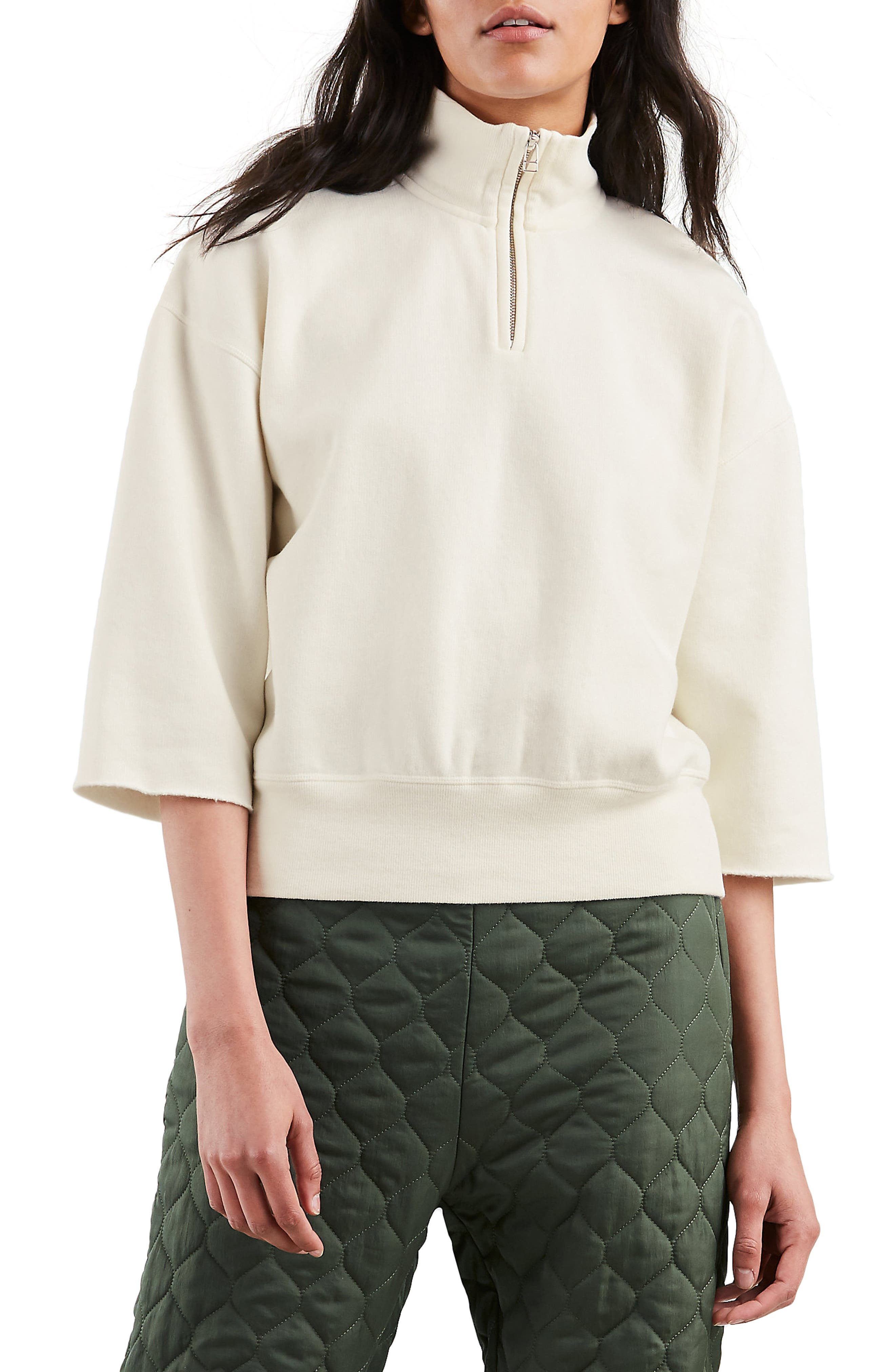 The Popover Sweatshirt,                             Main thumbnail 1, color,                             PRISTINE