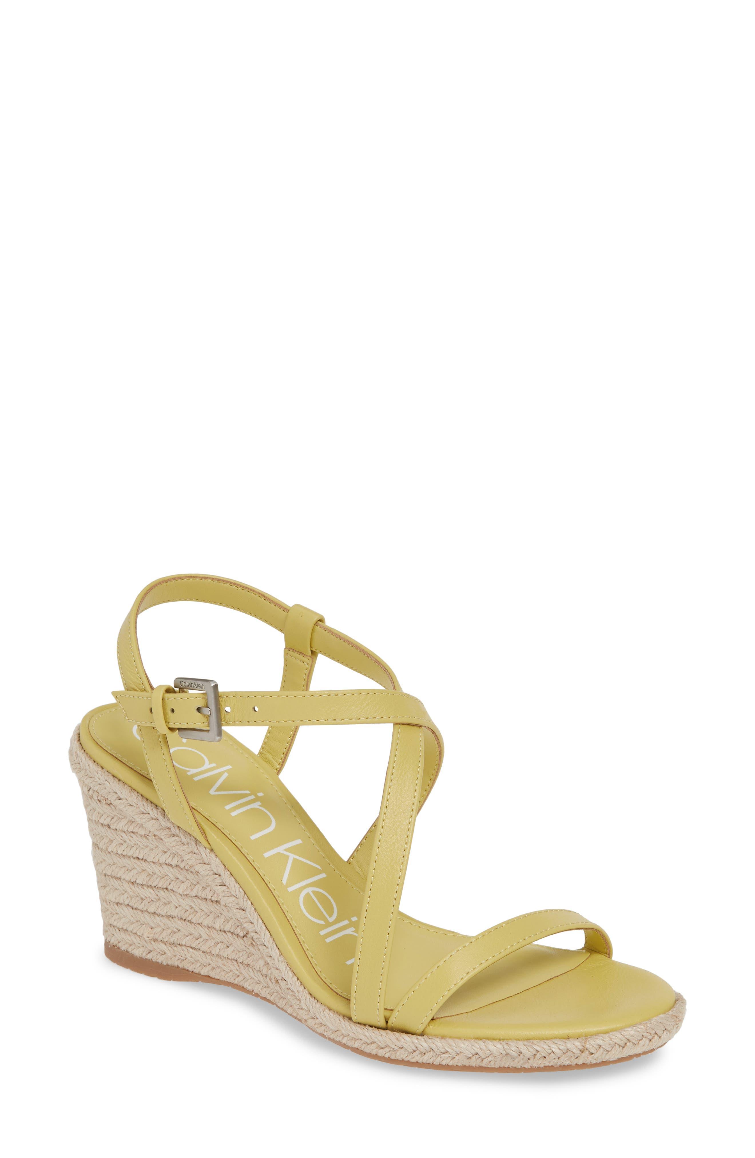 be87f28a9b8 Calvin Klein Bellemine Espadrille Wedge Sandal
