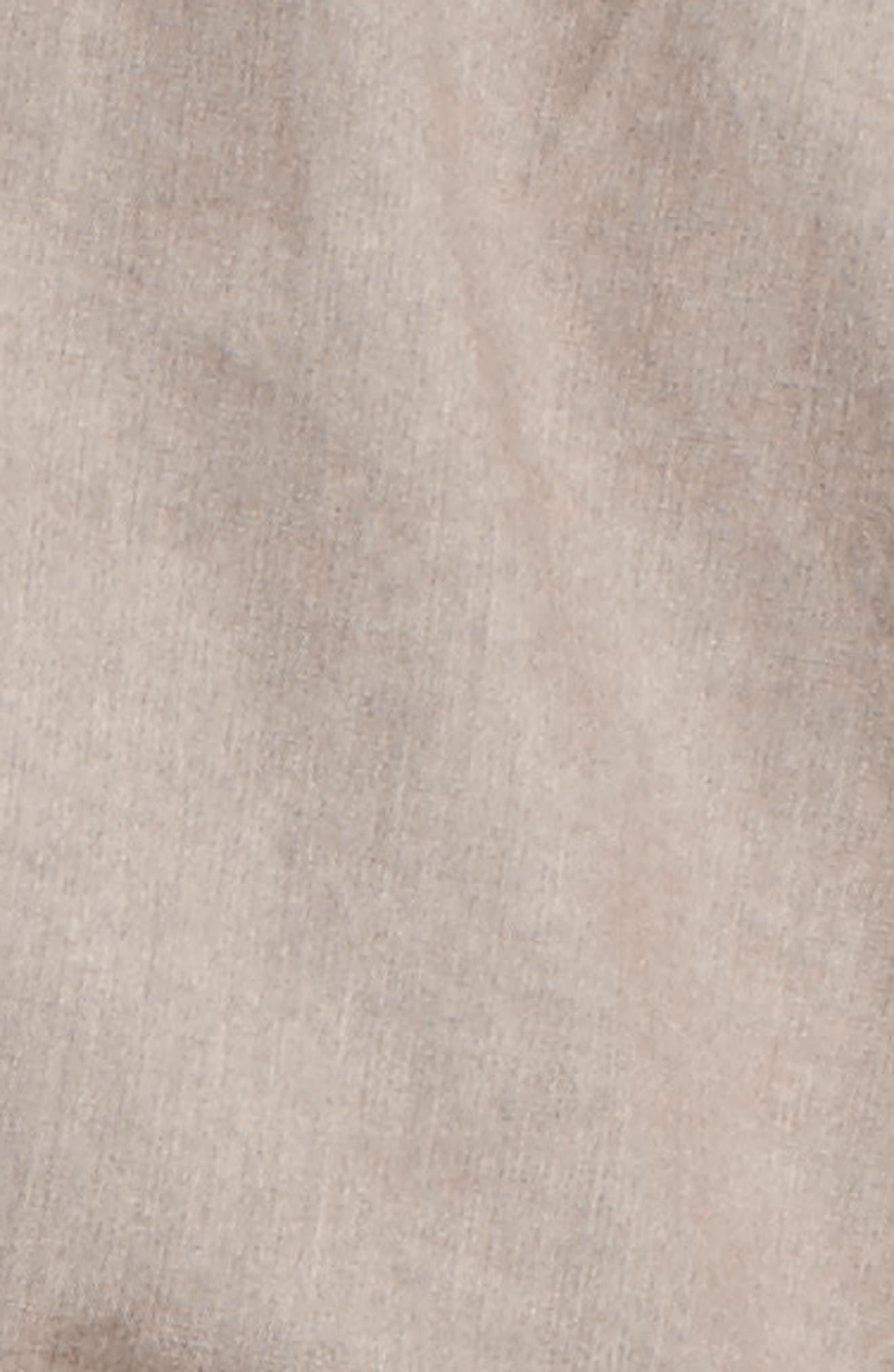 Roll-Sleeve Anorak,                             Alternate thumbnail 6, color,                             GREY