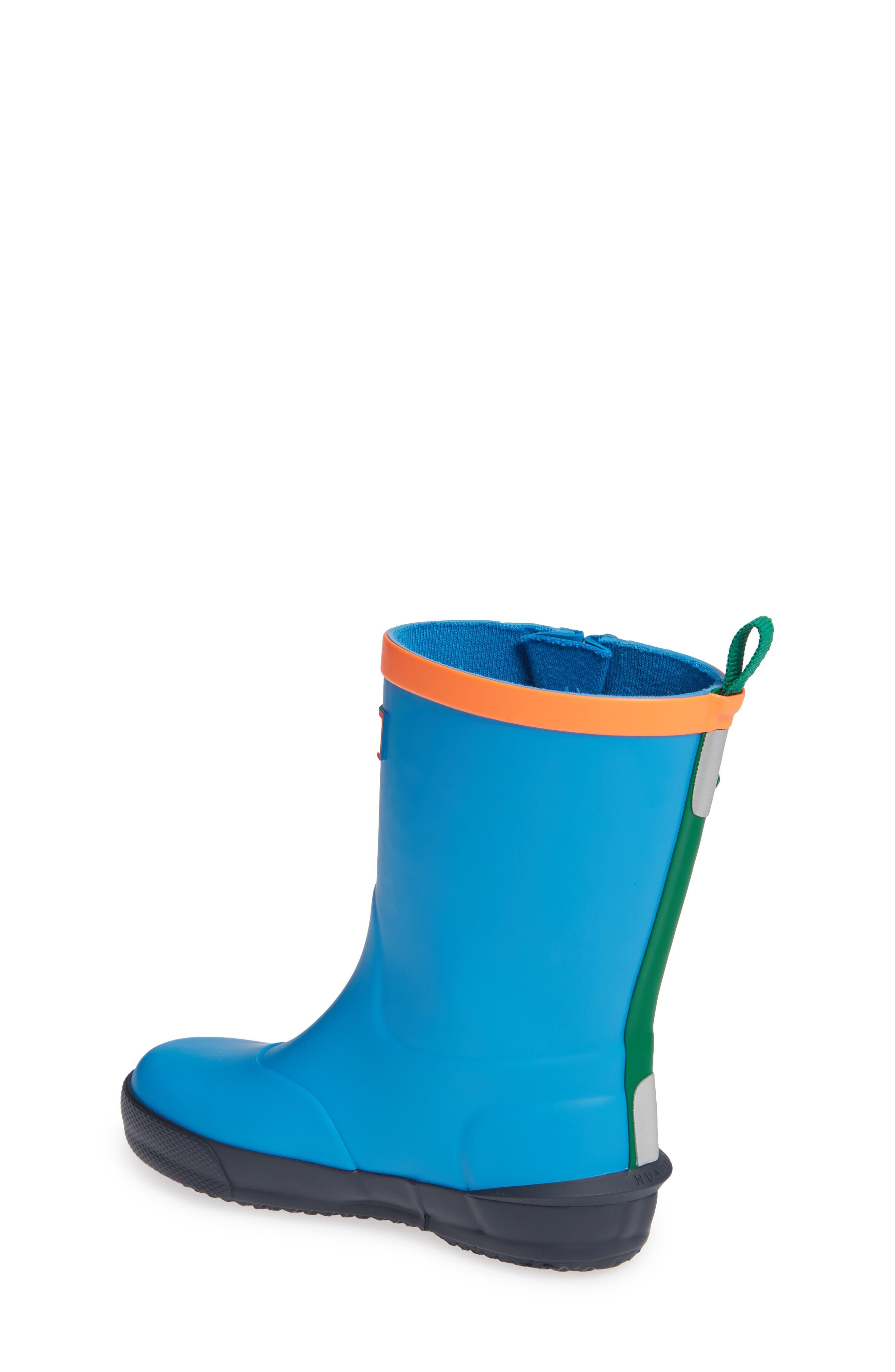 'Davison' Rain Boot,                             Alternate thumbnail 2, color,                             TWILIGHT/ HYPER GREEN/ NAVY