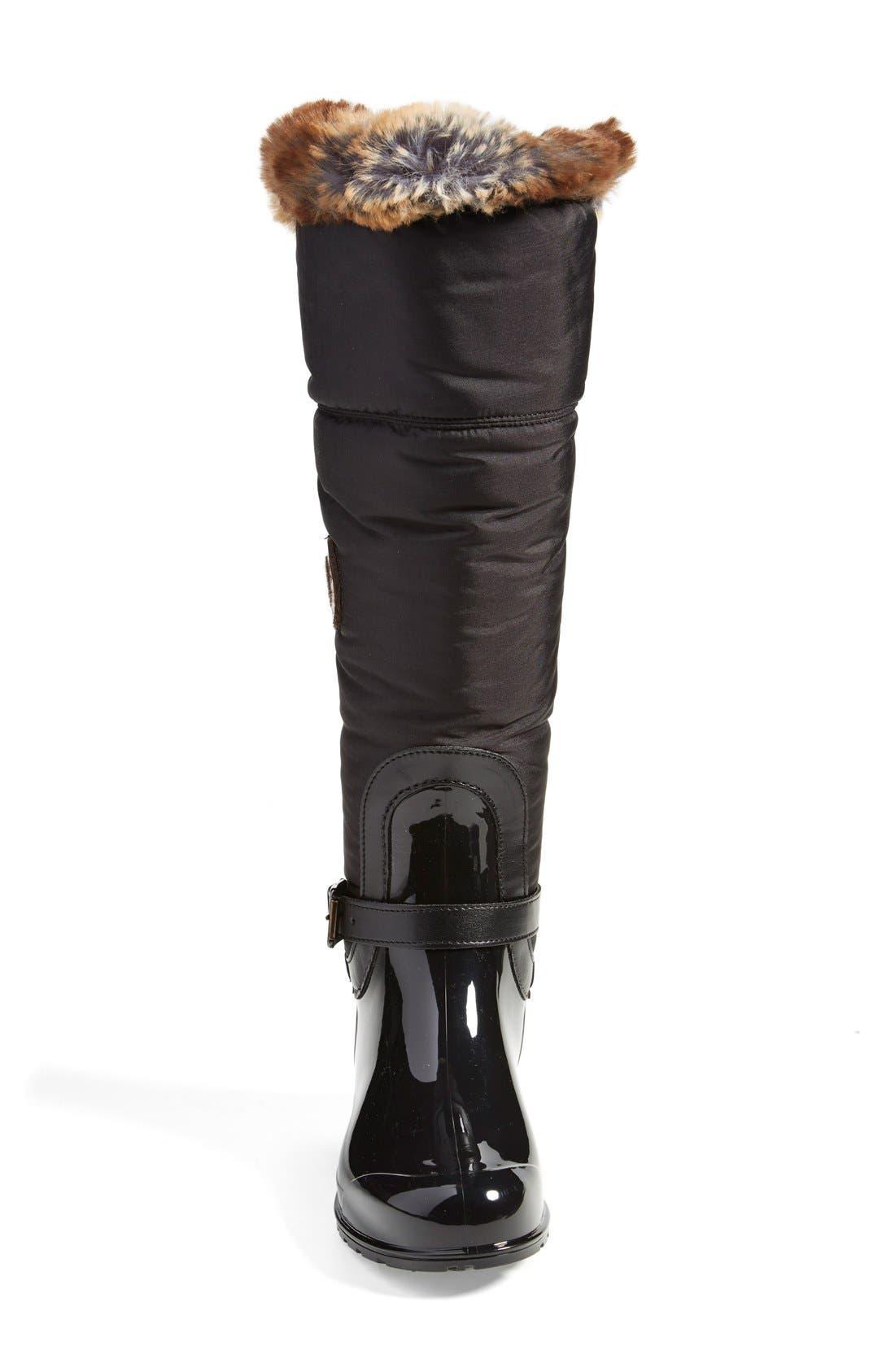'Clarissa' Waterproof Rain Boot,                             Alternate thumbnail 10, color,