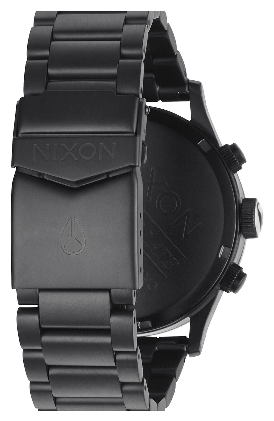 'The Sentry' Chronograph Bracelet Watch, 42mm,                             Alternate thumbnail 49, color,