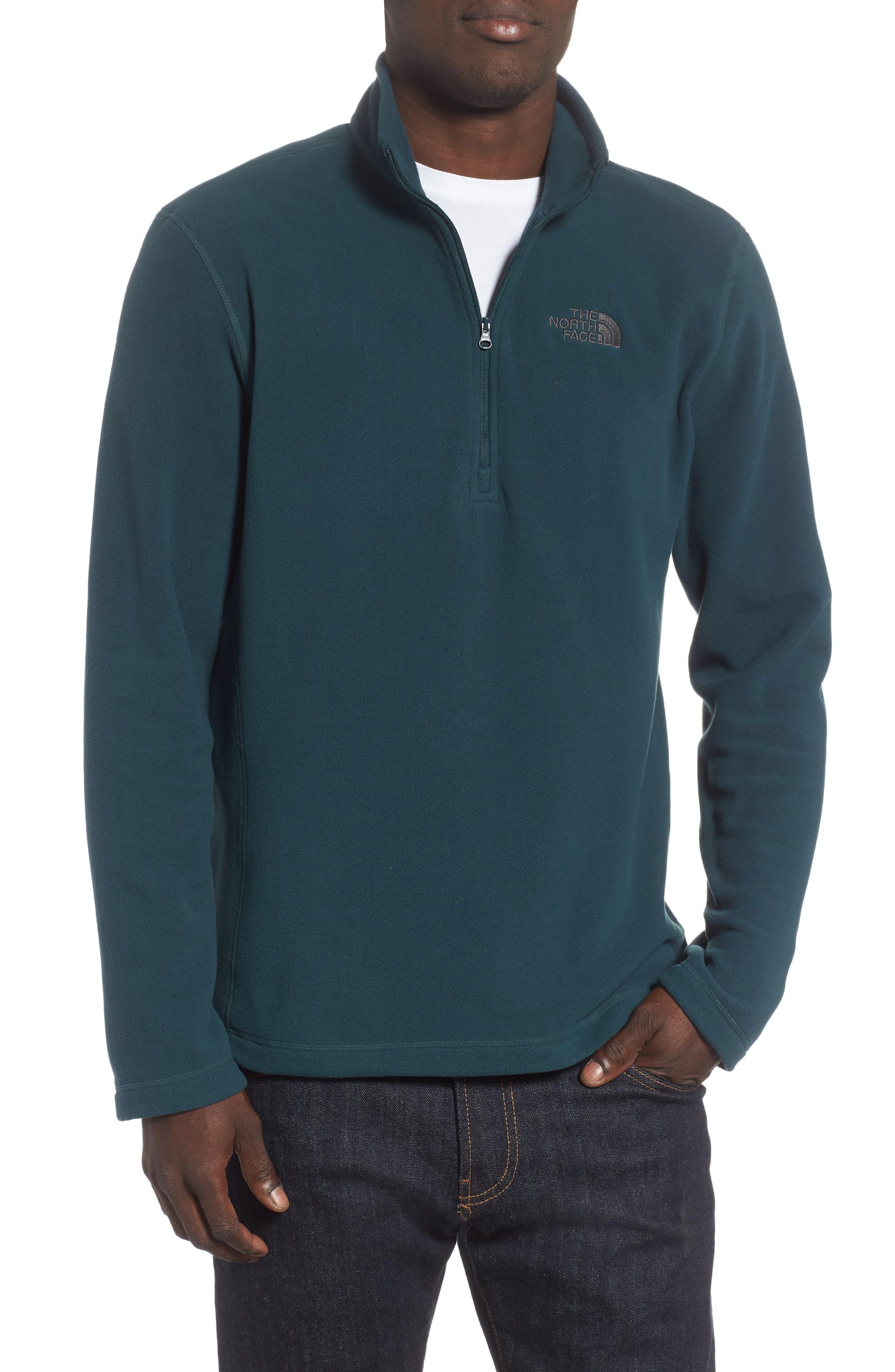 'TKA 100 Glacier' Quarter Zip Fleece Pullover,                             Main thumbnail 9, color,