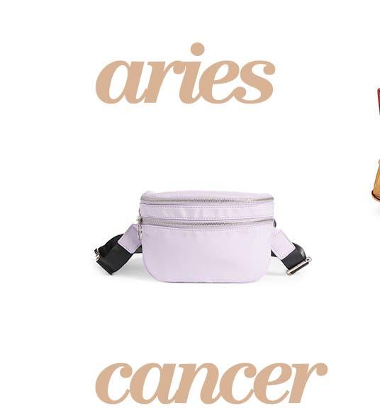 Aries: BP. belt bag.