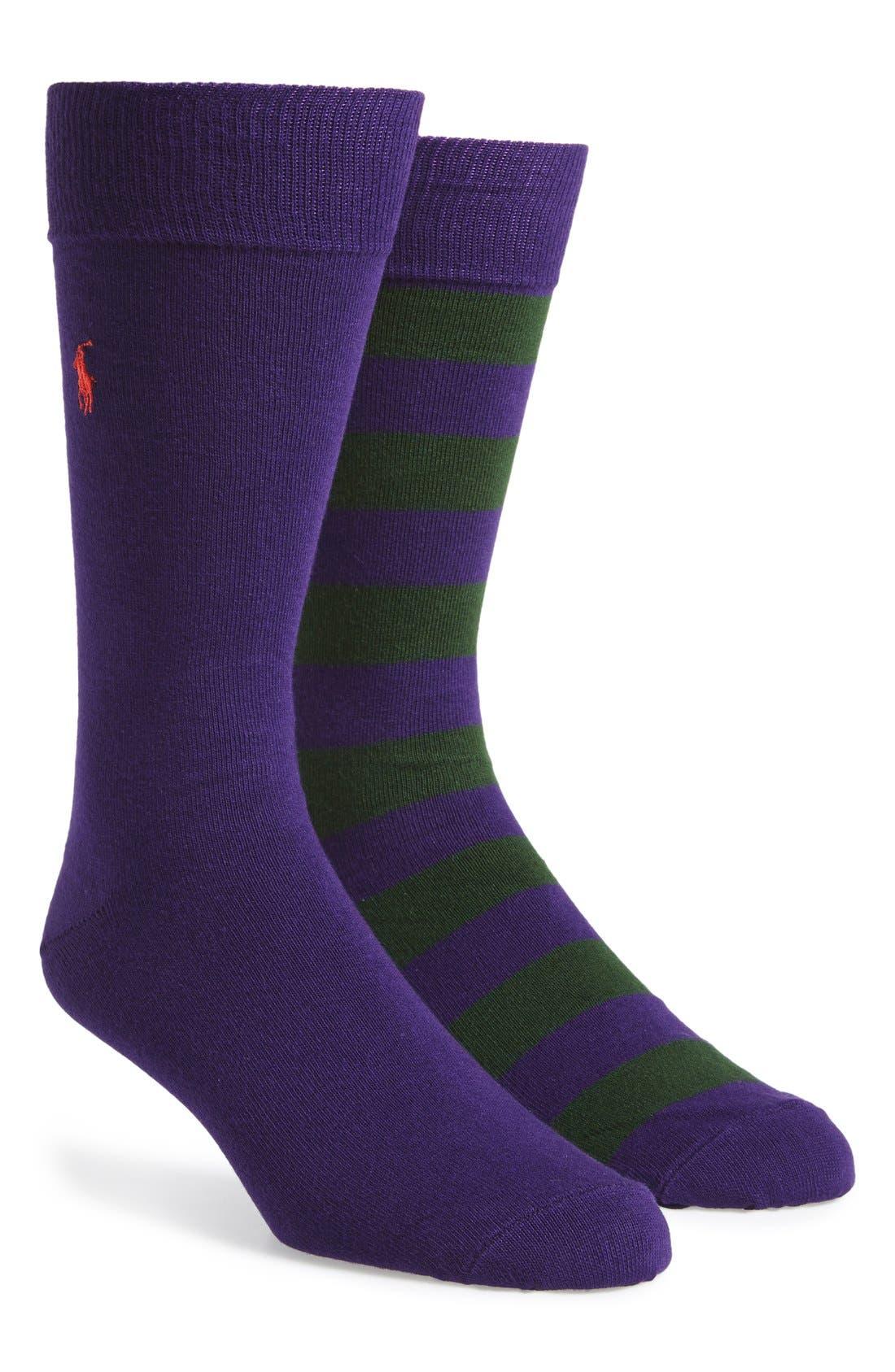 Cotton Blend Socks,                             Main thumbnail 15, color,