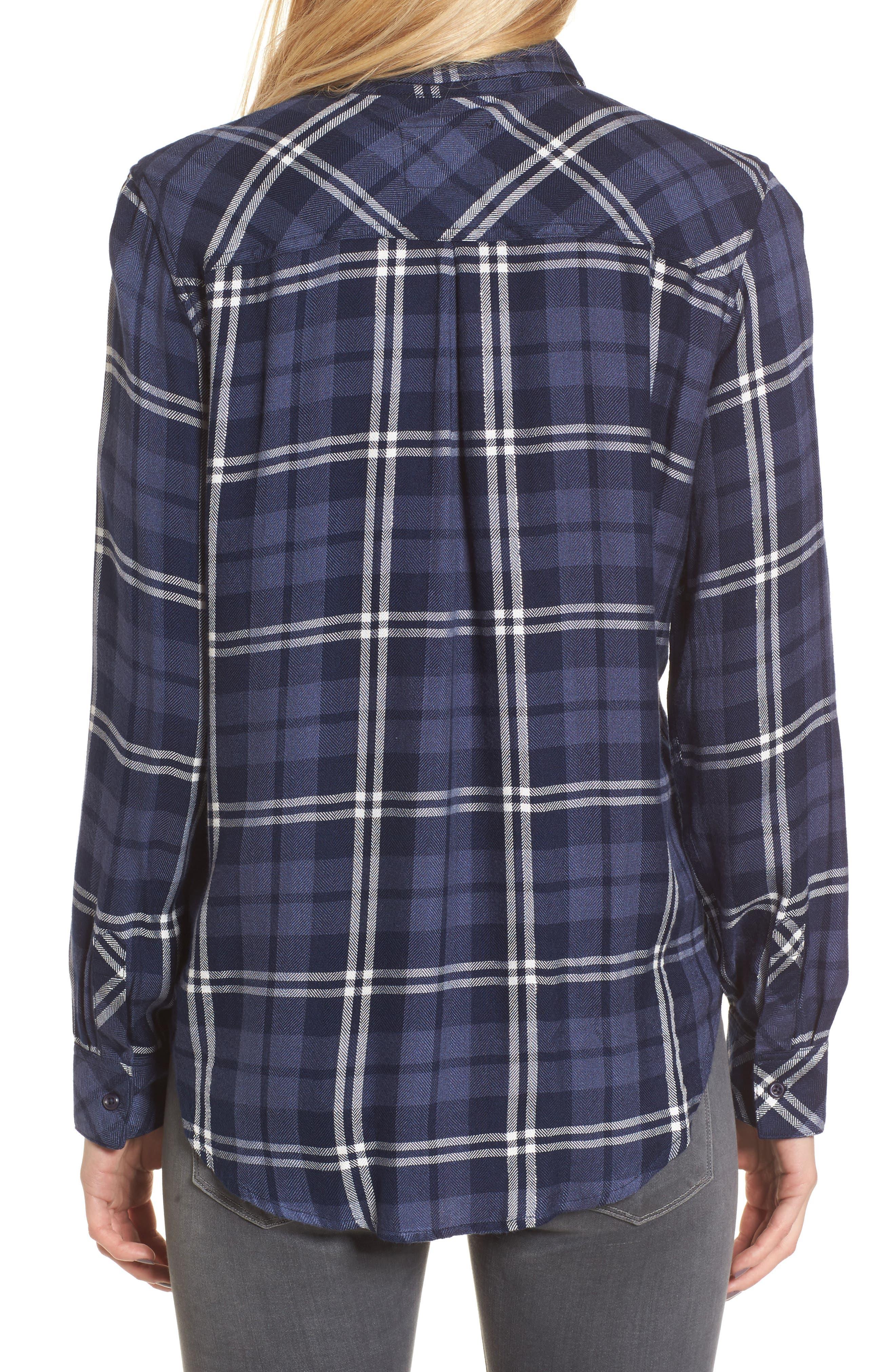 Hunter Plaid Shirt,                             Alternate thumbnail 208, color,