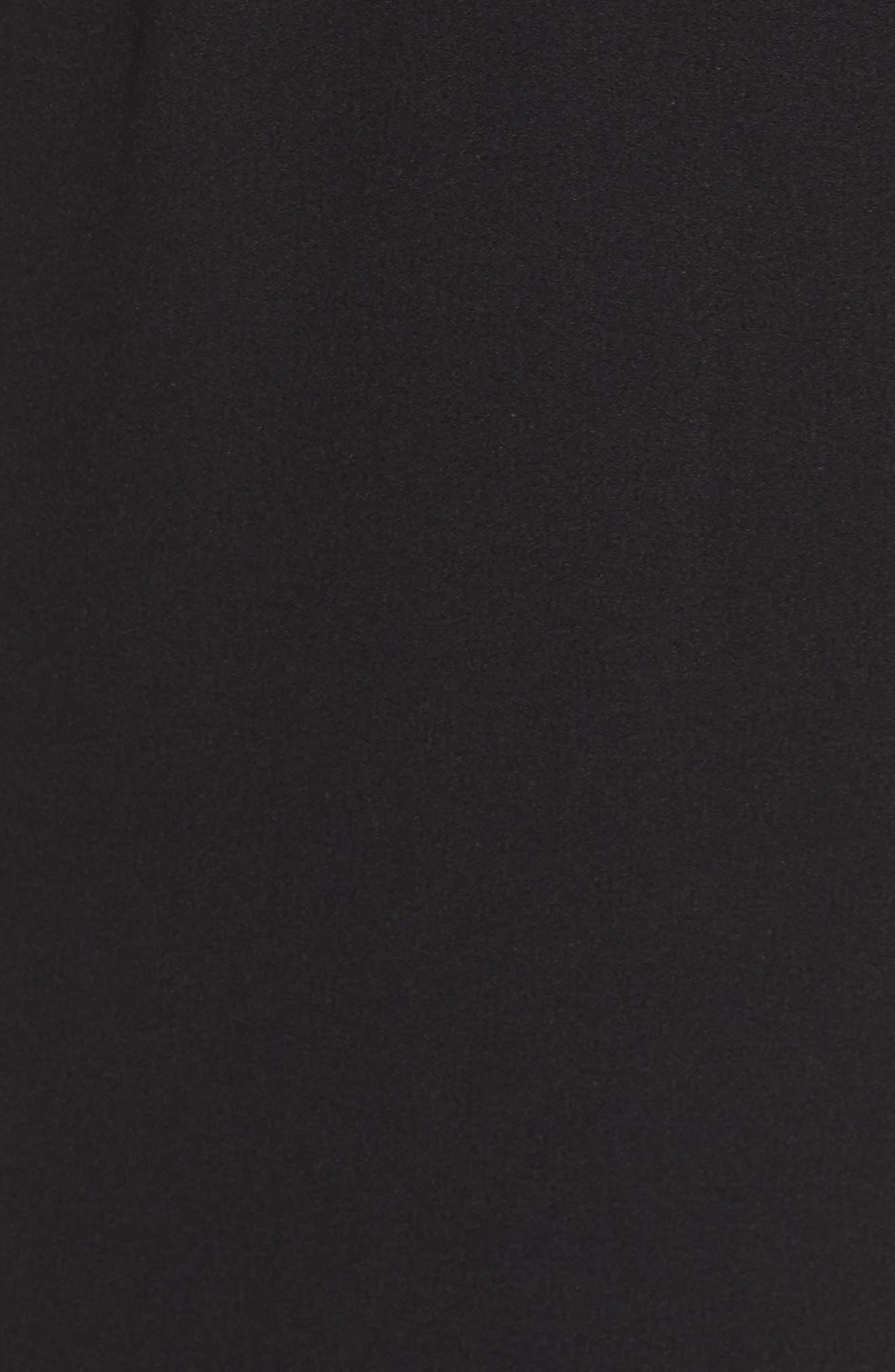 Jewel Neck Sheath Dress,                             Alternate thumbnail 5, color,                             002