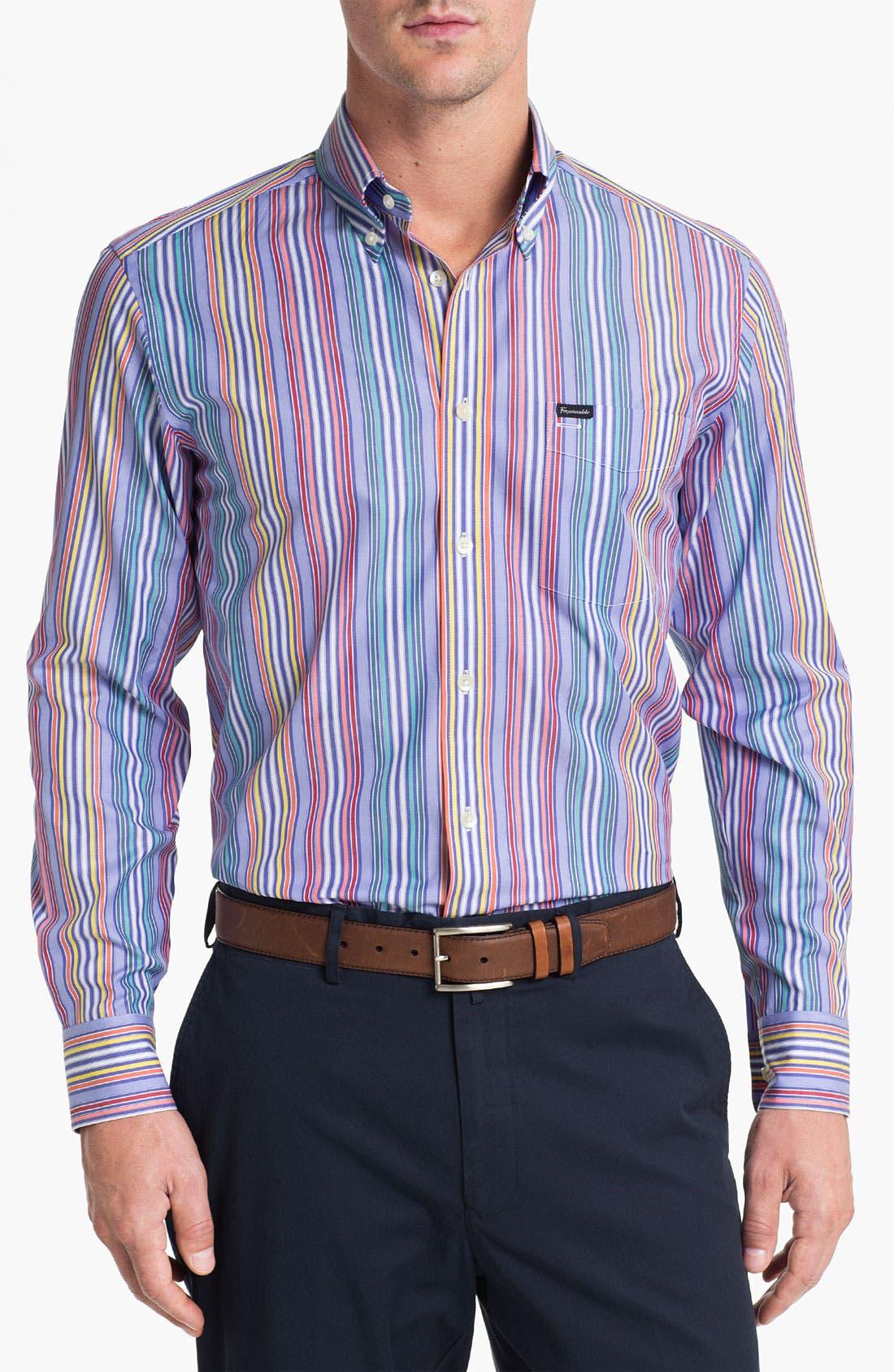 Façonnable Club Fit Sport Shirt,                         Main,                         color,