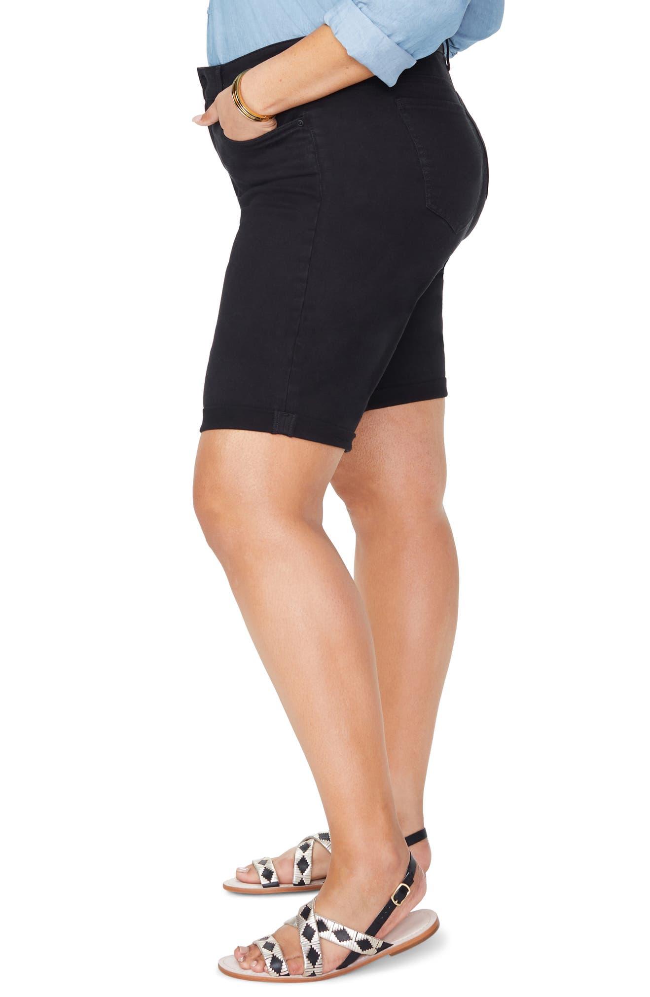 956cf620accf8 NYDJ Briella Roll Cuff Denim Shorts (Plus Size)