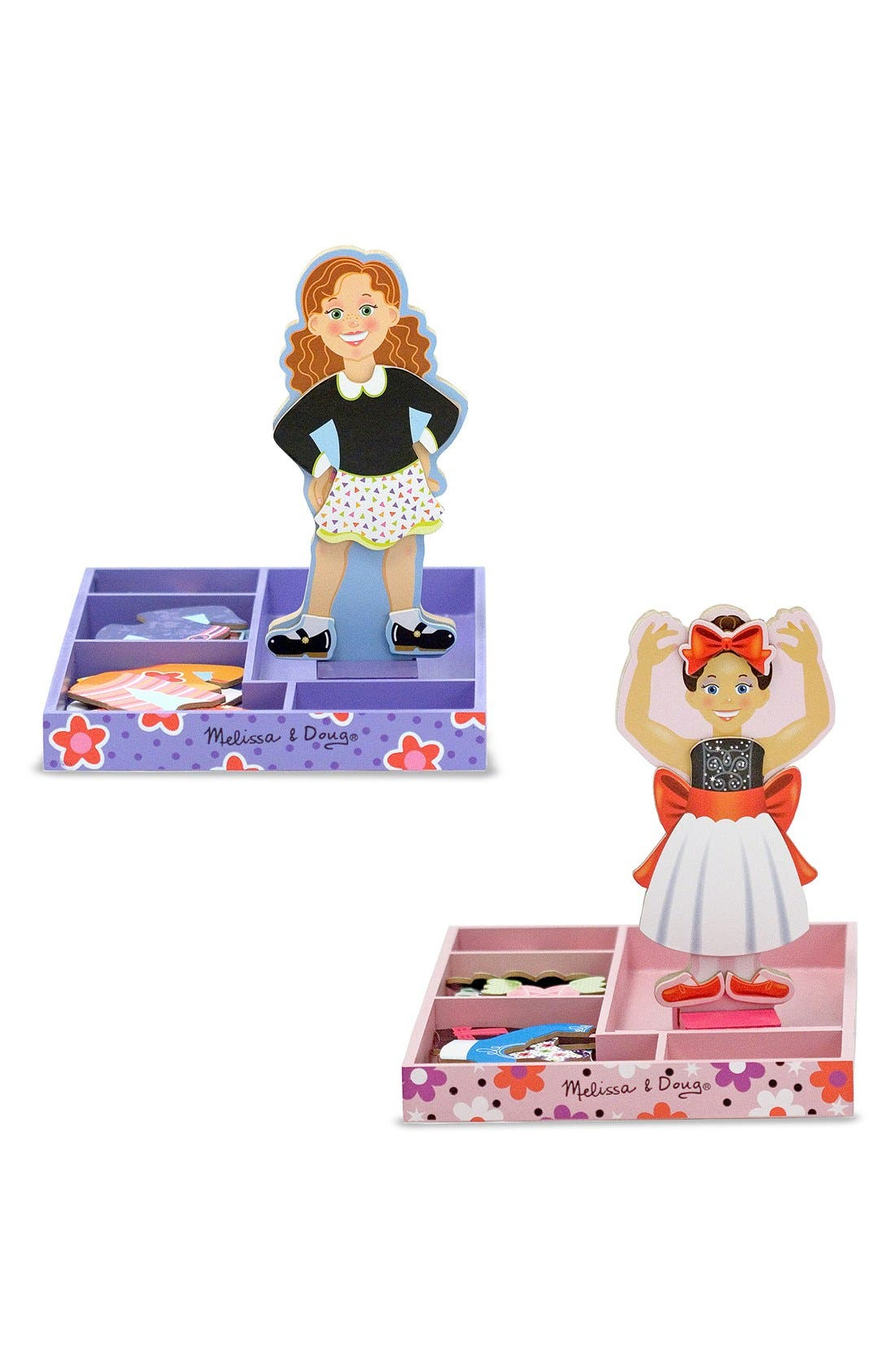 Magnetic Dress-Up Set,                         Main,                         color, MULTI