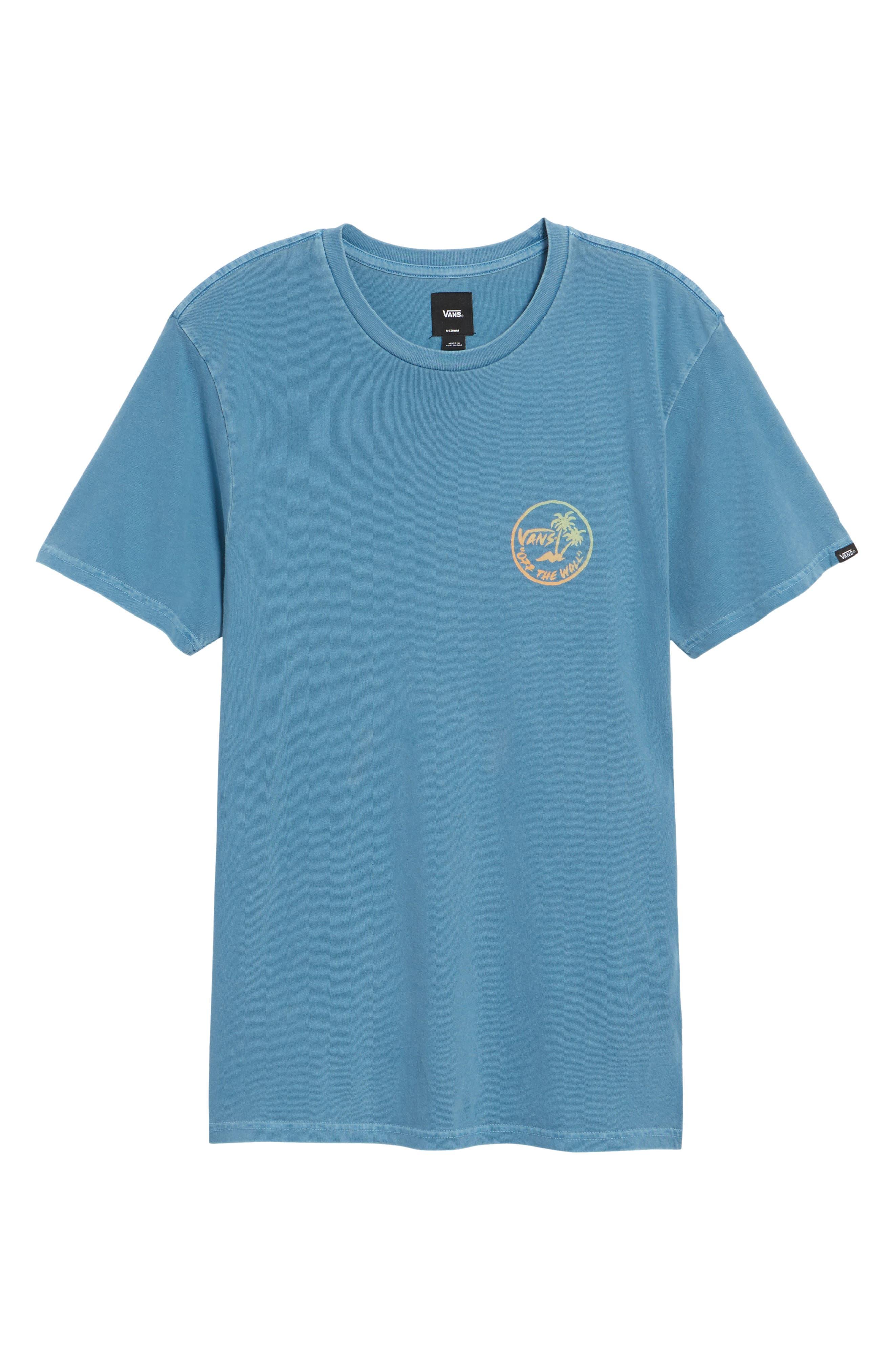 Vintage Palm Graphic T-Shirt,                             Alternate thumbnail 6, color,                             420