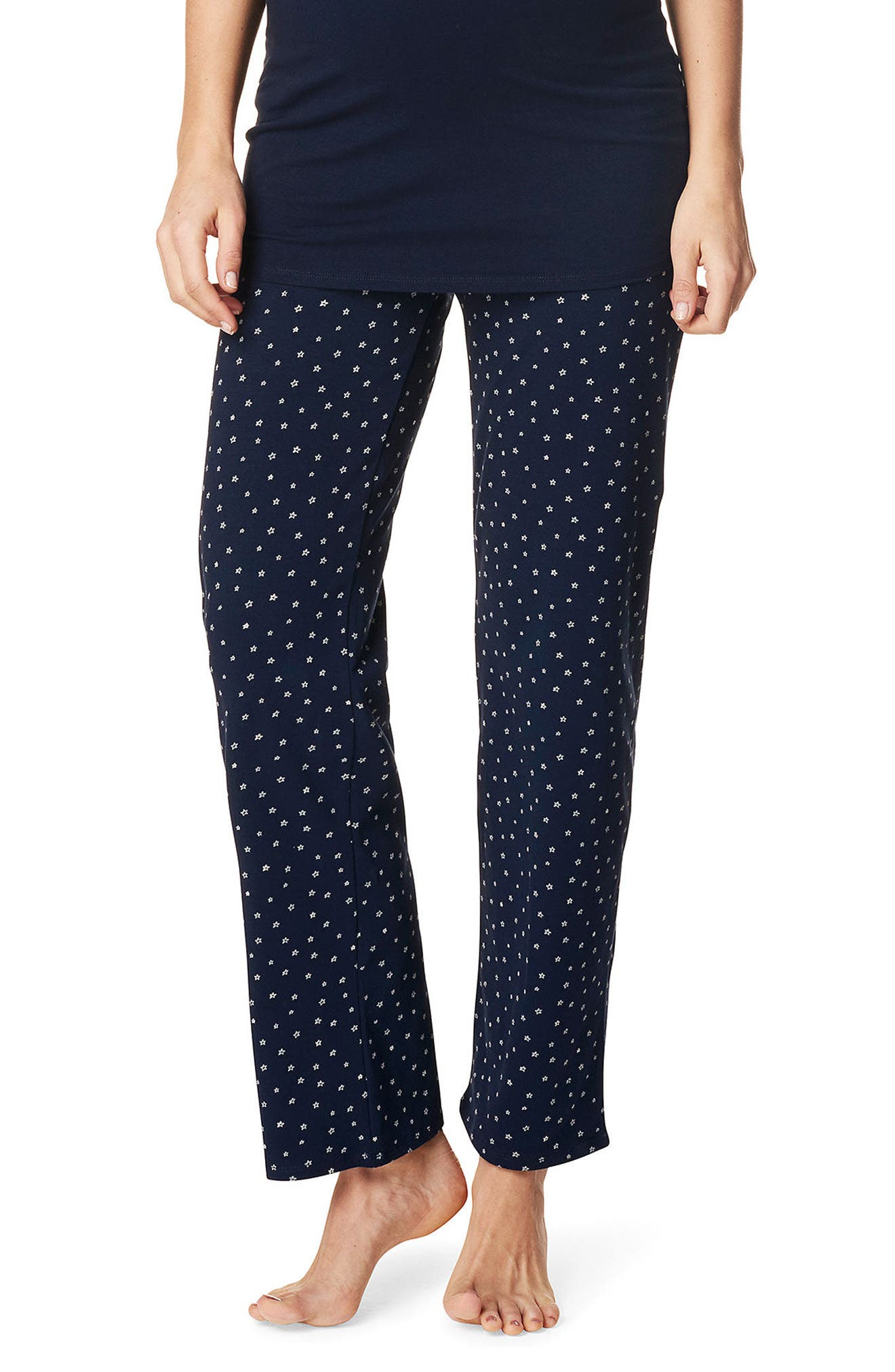 NOPPIES Sterre Maternity Pants, Main, color, BLUE