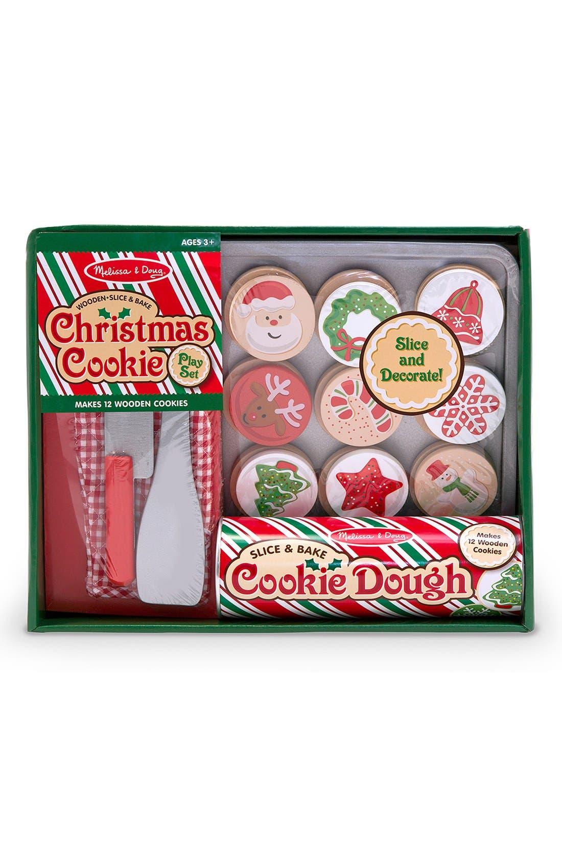 'Slice & Bake' Christmas Cookie Play Set,                             Main thumbnail 1, color,                             600
