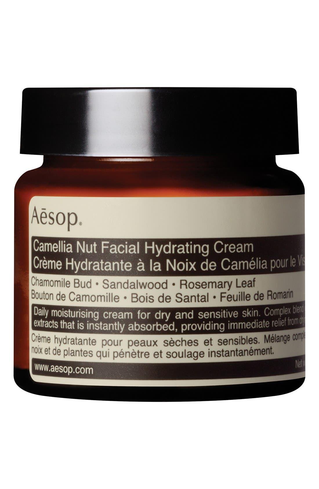 Camellia Nut Facial Hydrating Cream,                             Main thumbnail 1, color,                             NONE