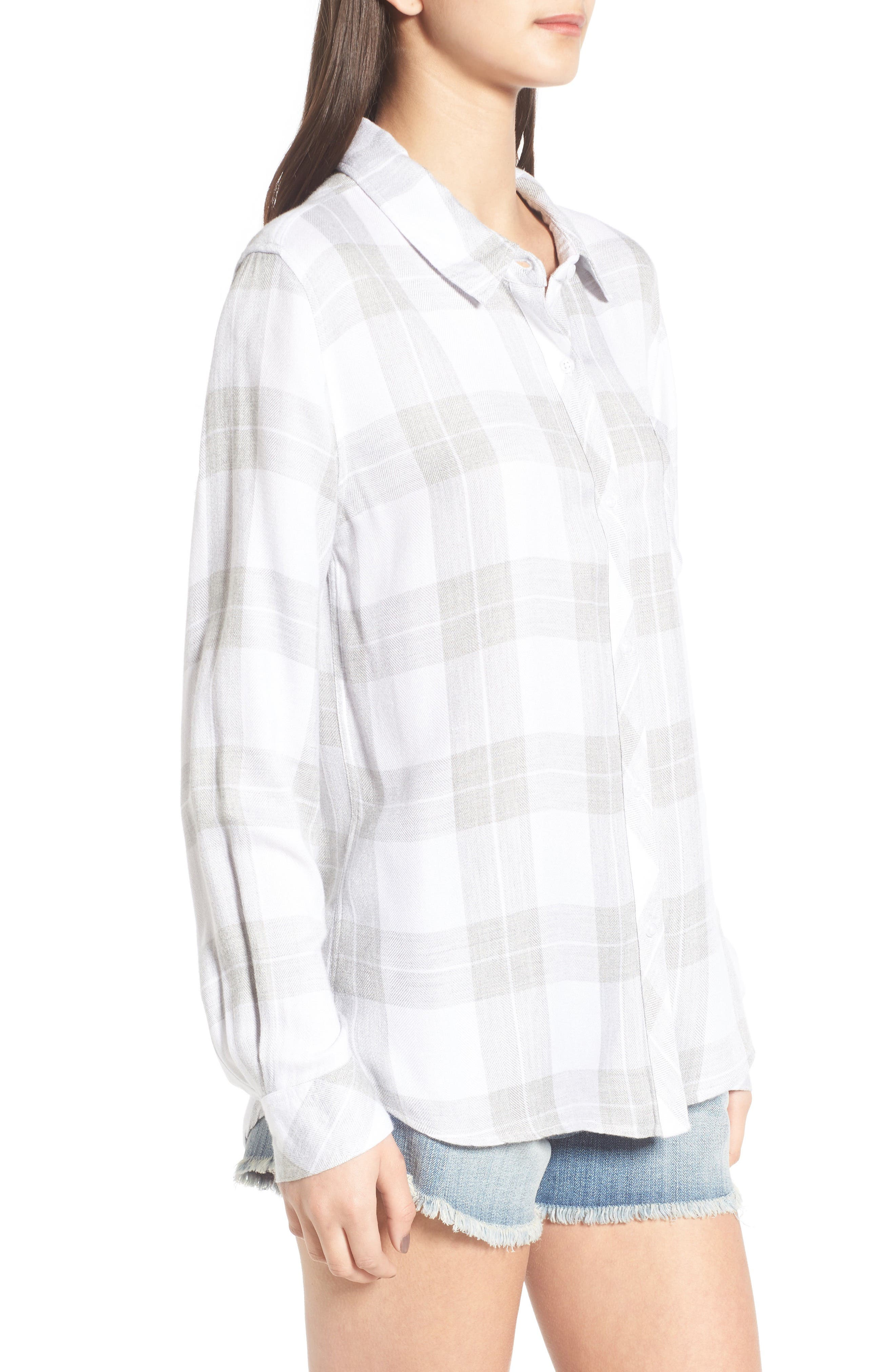 Hunter Plaid Shirt,                             Alternate thumbnail 373, color,