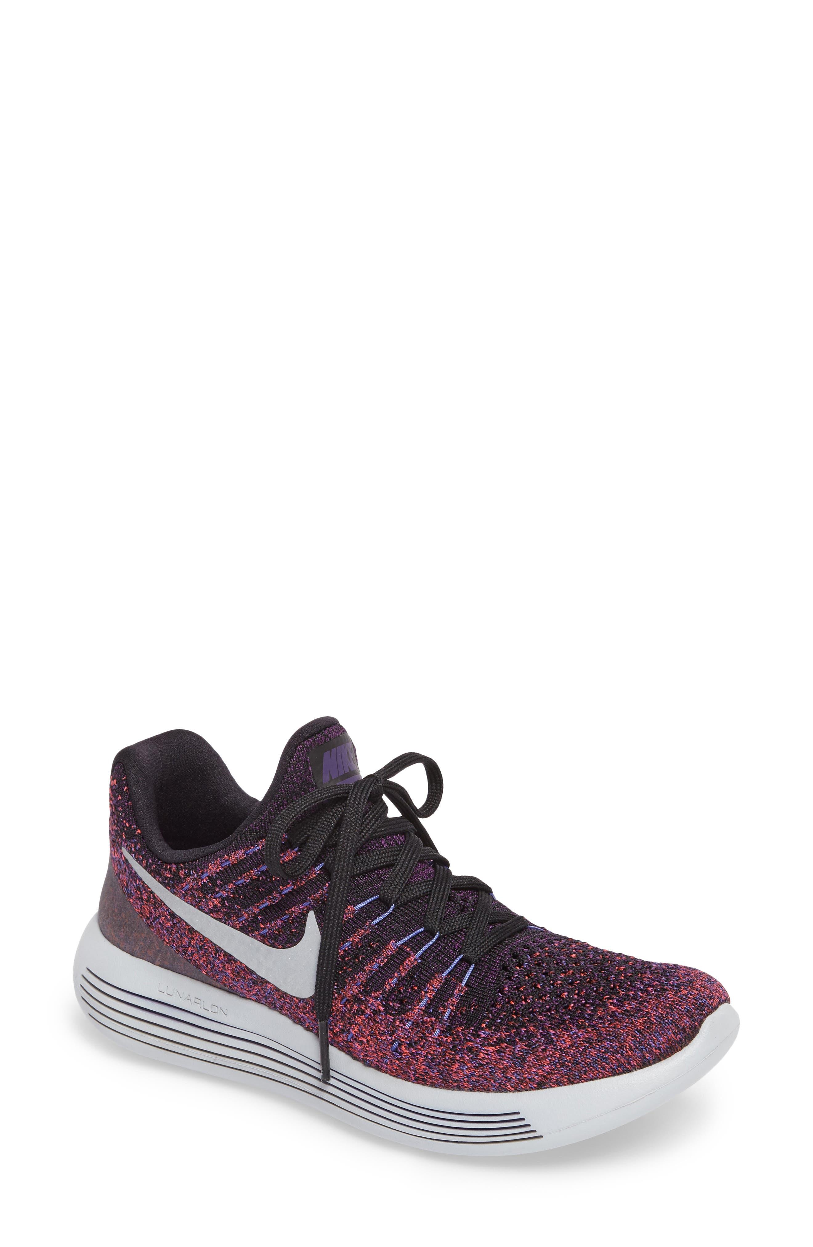 LunarEpic Low Flyknit 2 Running Shoe,                             Main thumbnail 6, color,