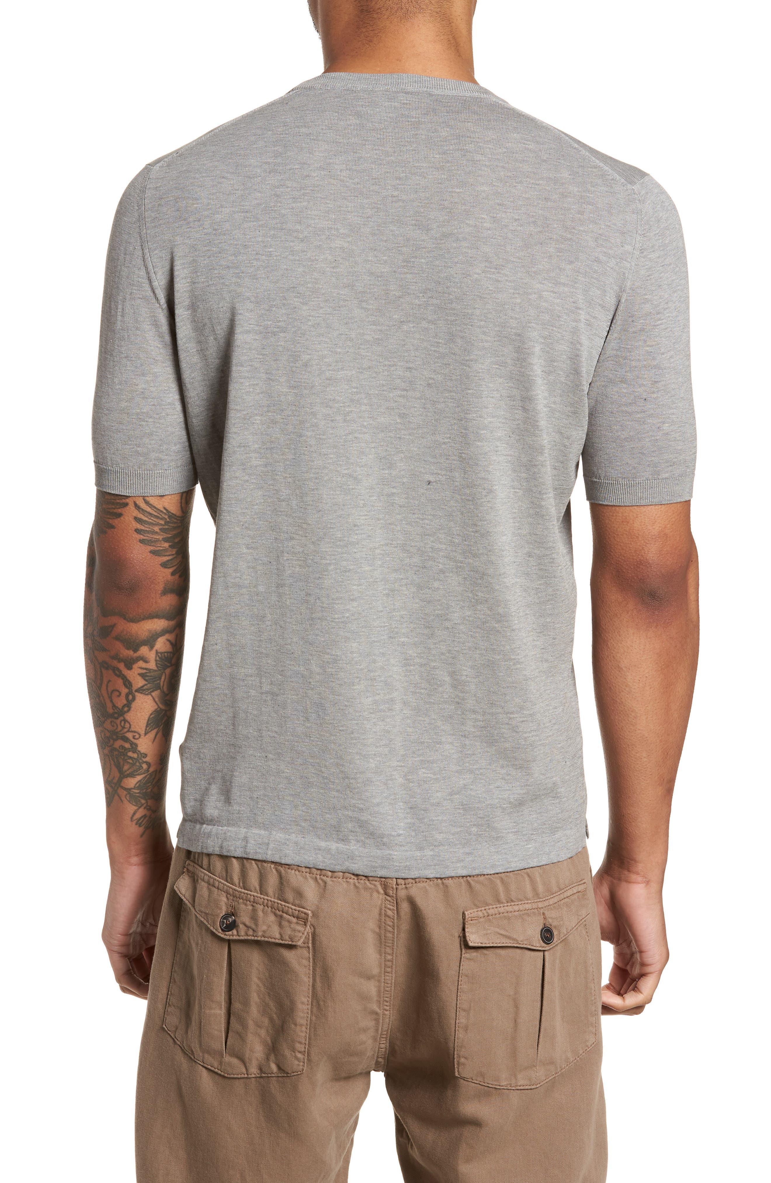 Fresco Crewneck Cotton T-Shirt,                             Alternate thumbnail 2, color,                             021