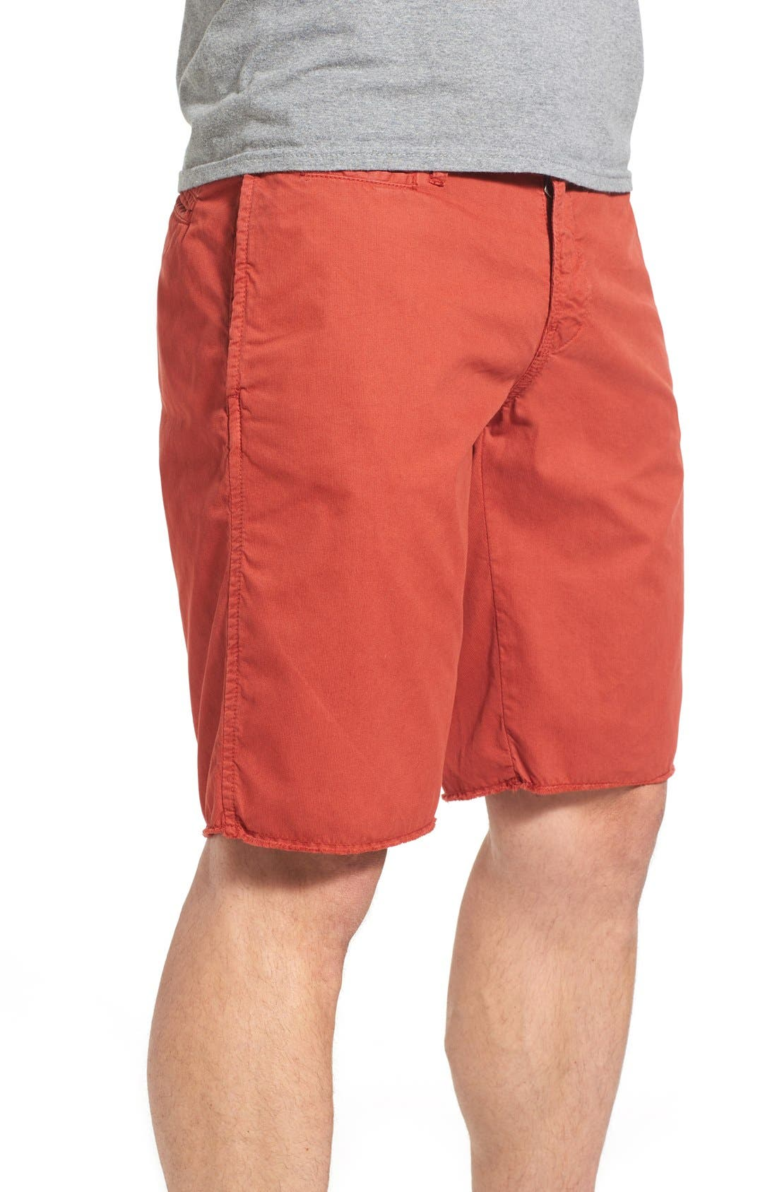 'St. Barts' Raw Edge Shorts,                             Alternate thumbnail 3, color,                             801