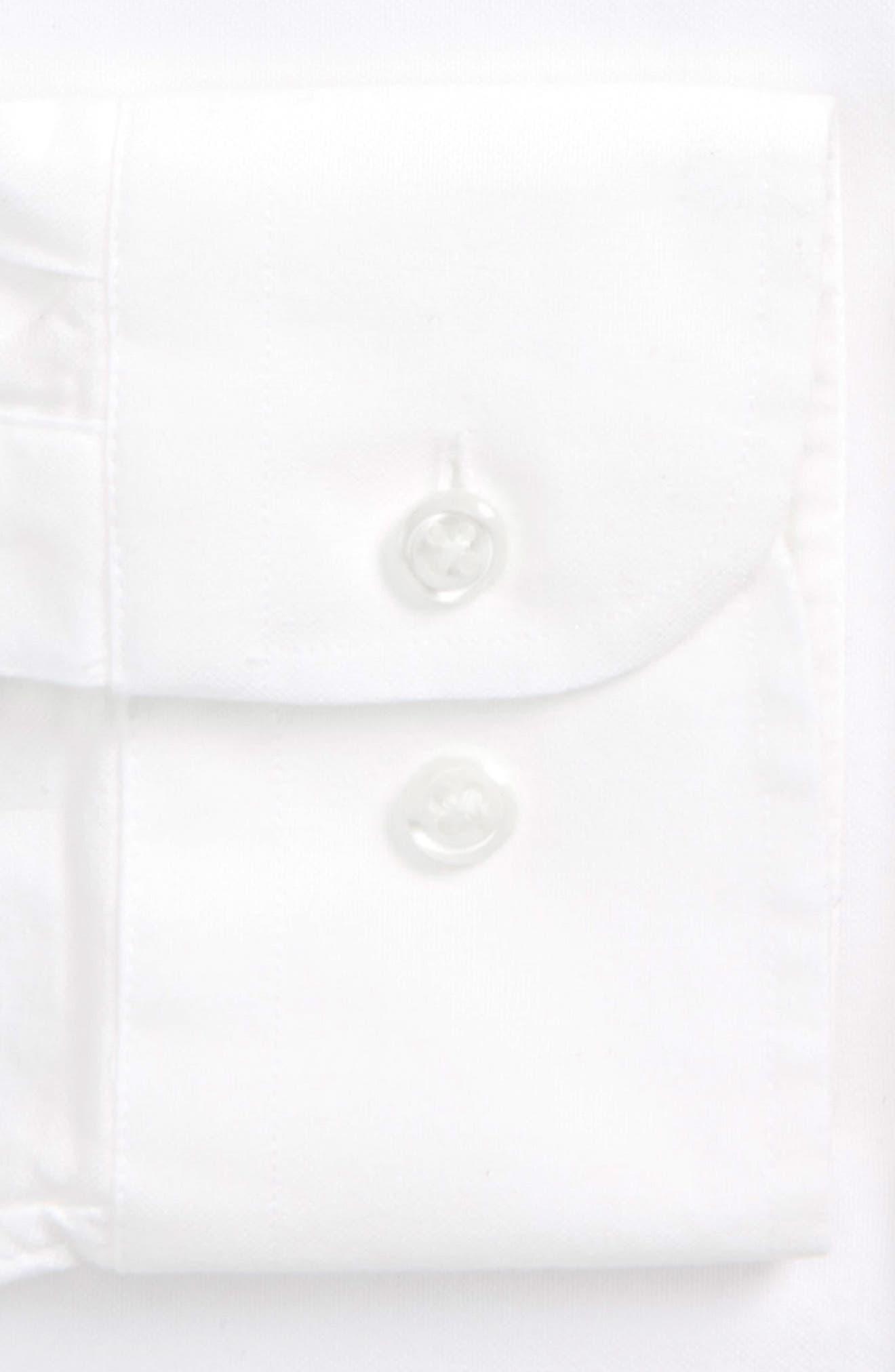 Trim Fit Solid Dress Shirt,                             Alternate thumbnail 15, color,