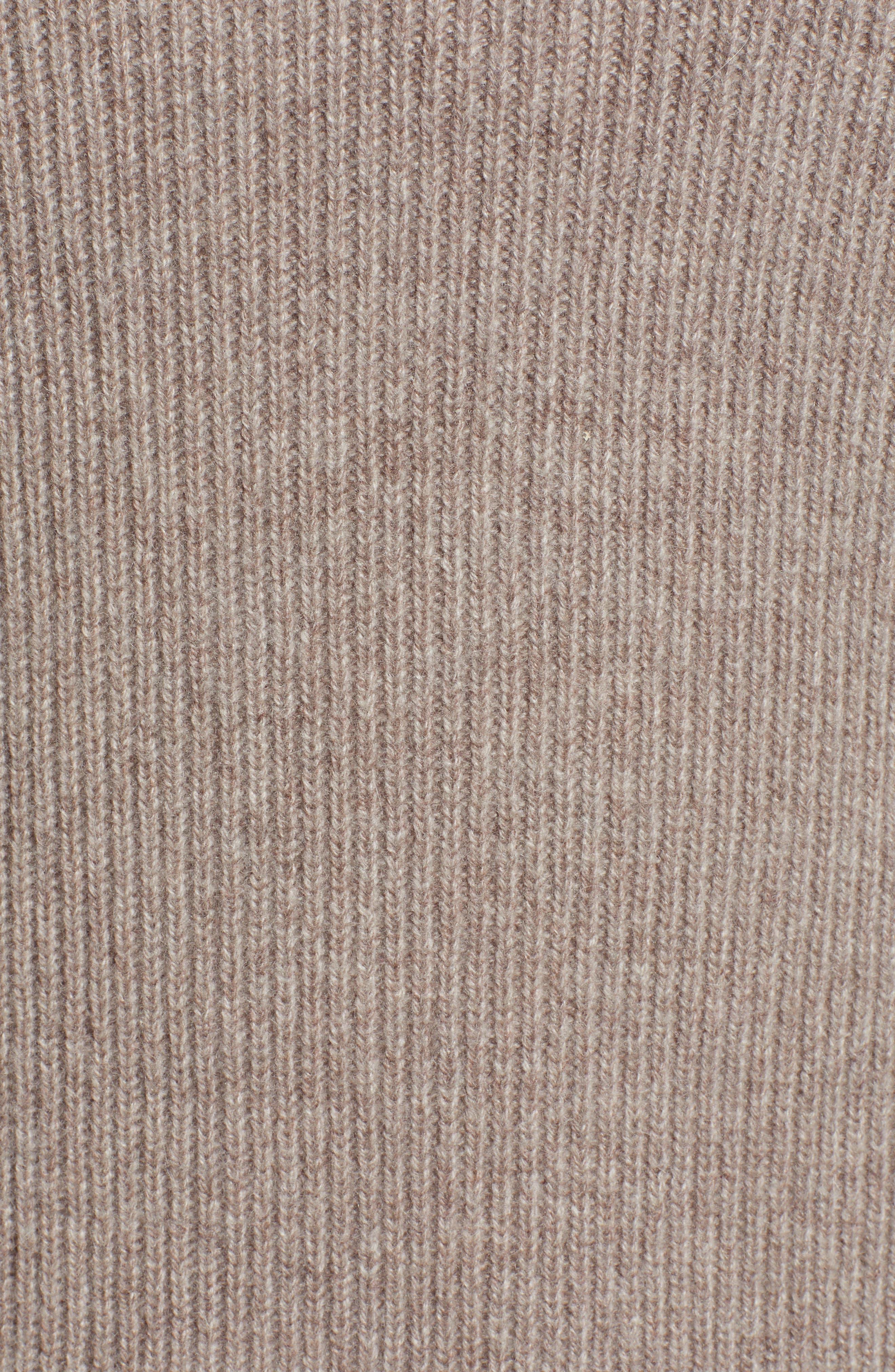 Blouson Sleeve Long Cashmere Cardigan,                             Alternate thumbnail 15, color,