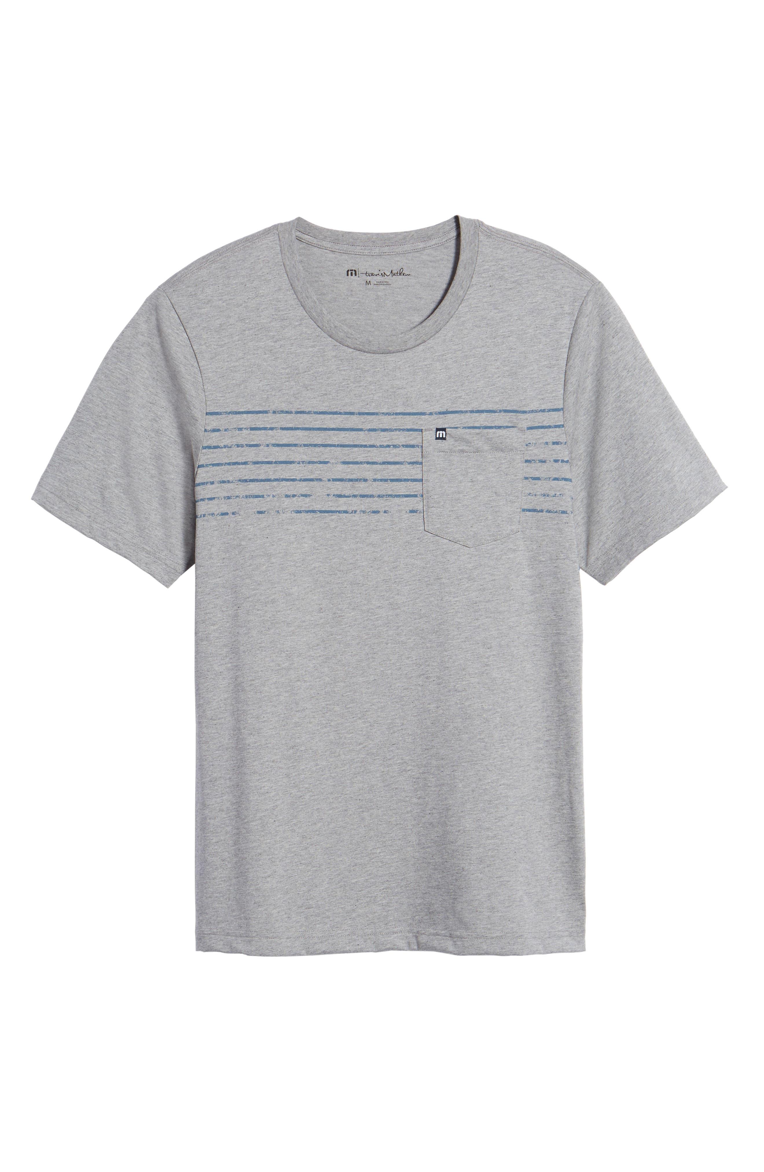 Bogue Pocket T-Shirt,                             Alternate thumbnail 6, color,                             020