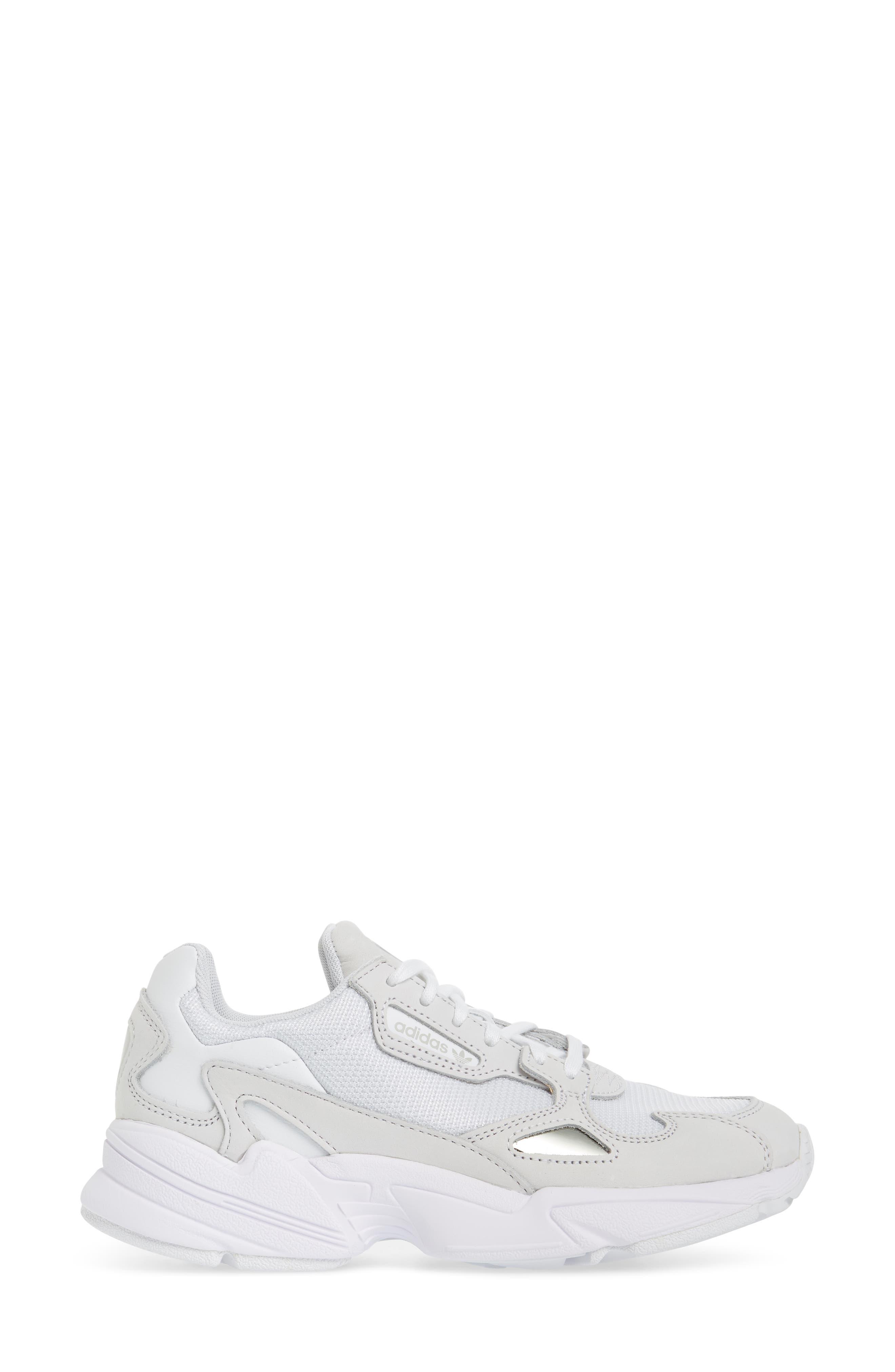 Falcon Sneaker,                             Alternate thumbnail 3, color,                             WHITE