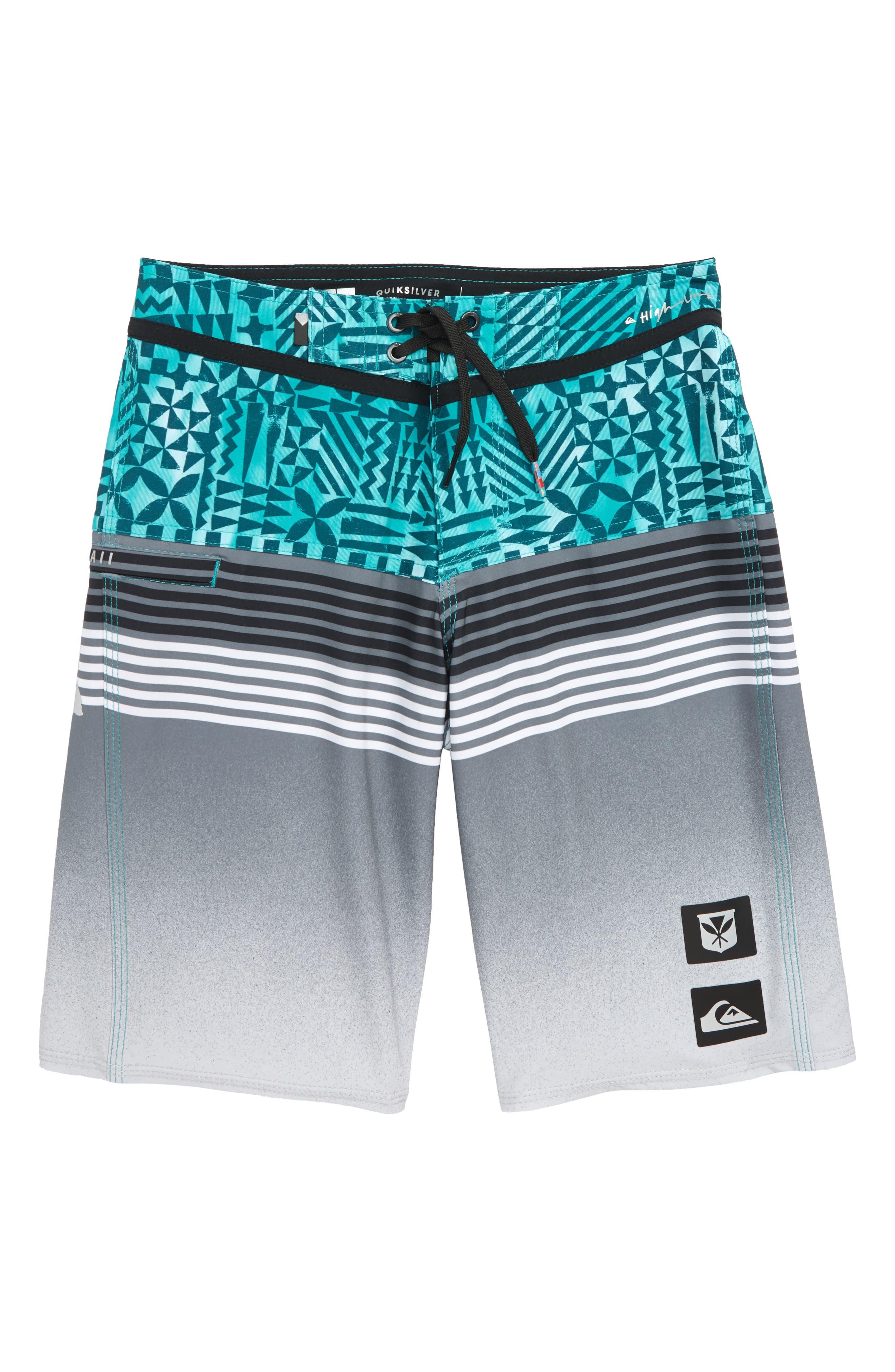 Highline Hawaii Board Shorts,                             Main thumbnail 1, color,                             328