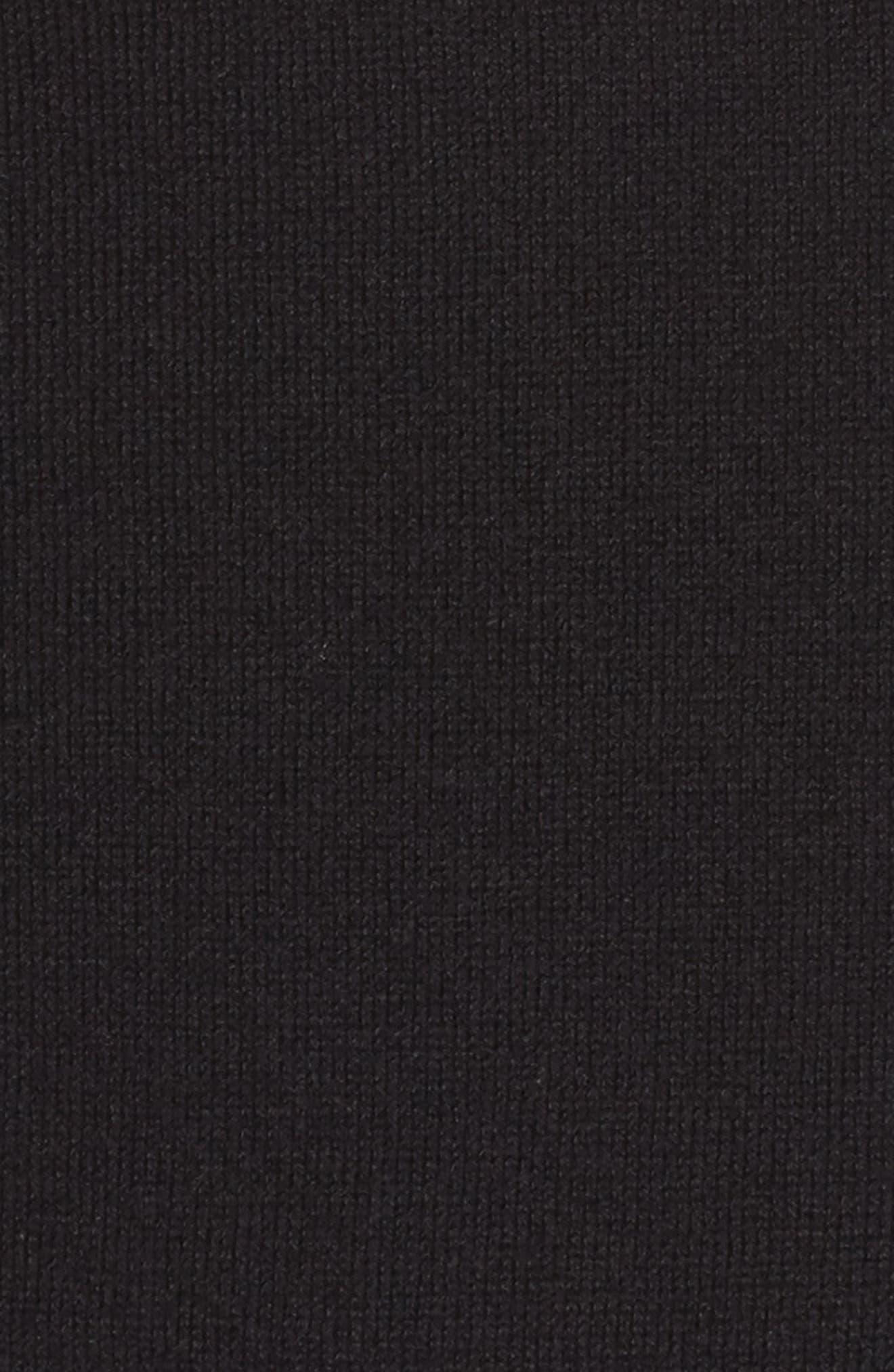 Cold Shoulder Sweater,                             Alternate thumbnail 5, color,                             001