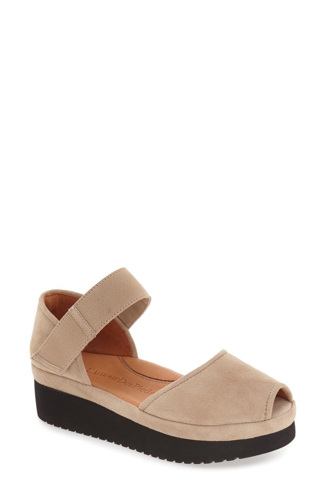 'Amadour' Platform Sandal,                             Main thumbnail 7, color,