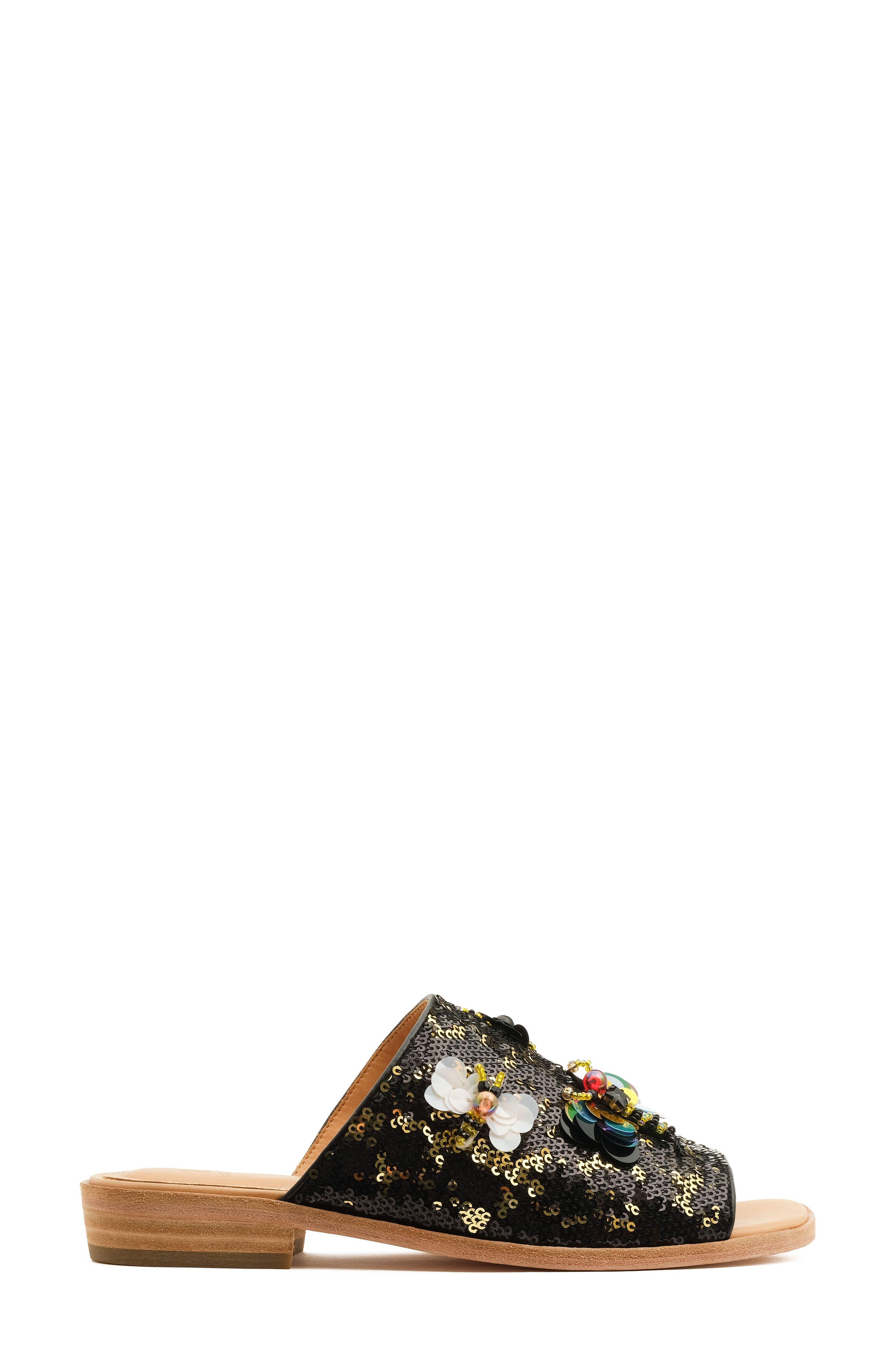 Niki Slide Sandal,                             Alternate thumbnail 3, color,                             001