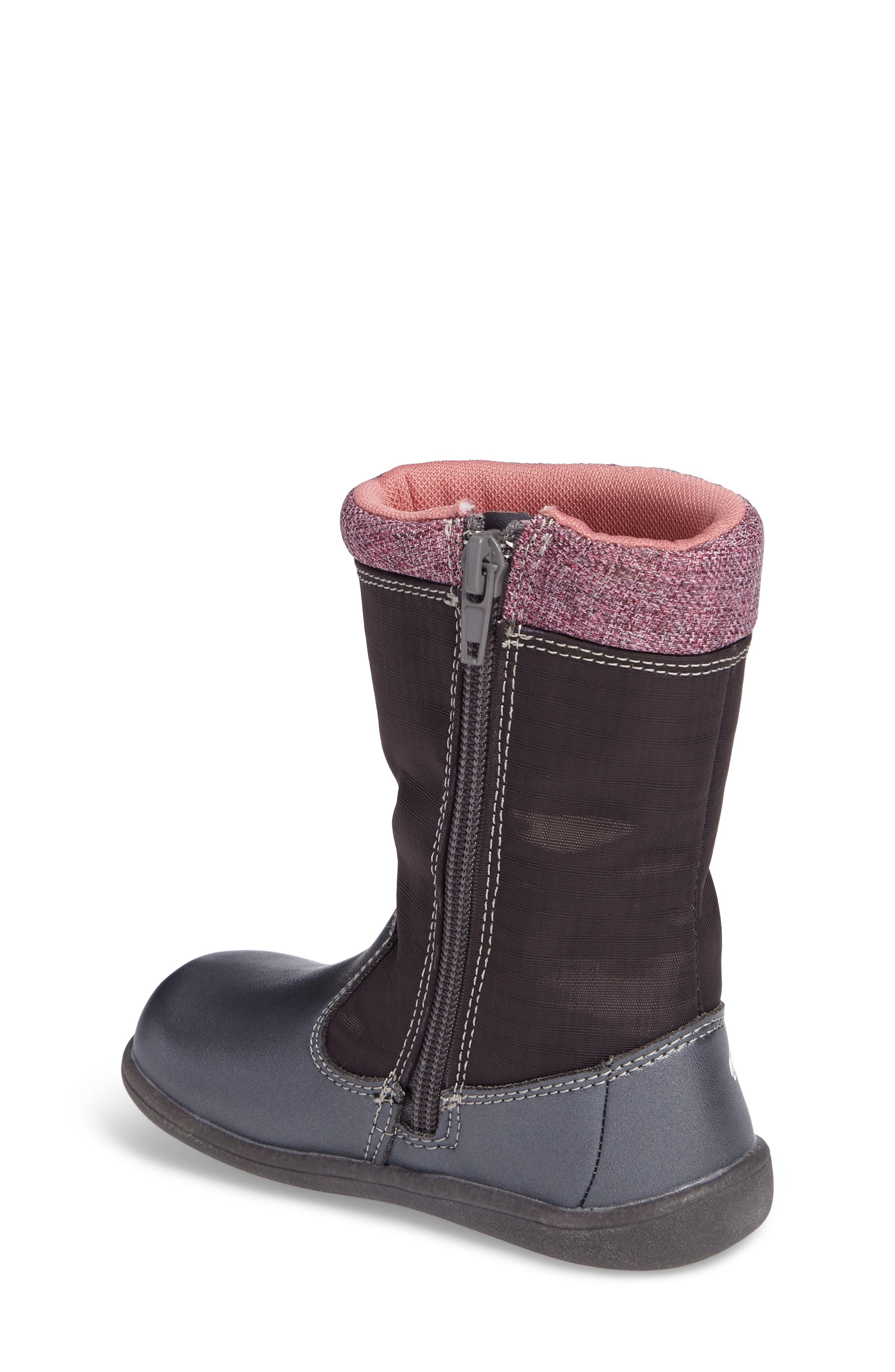 'Hallie' Waterproof Boot,                             Alternate thumbnail 2, color,                             021