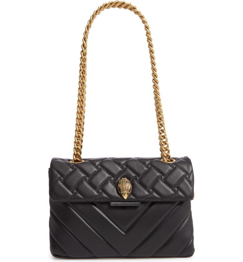 72f1ab9d0baf Kurt Geiger London Kensington Quilted Leather Shoulder Bag