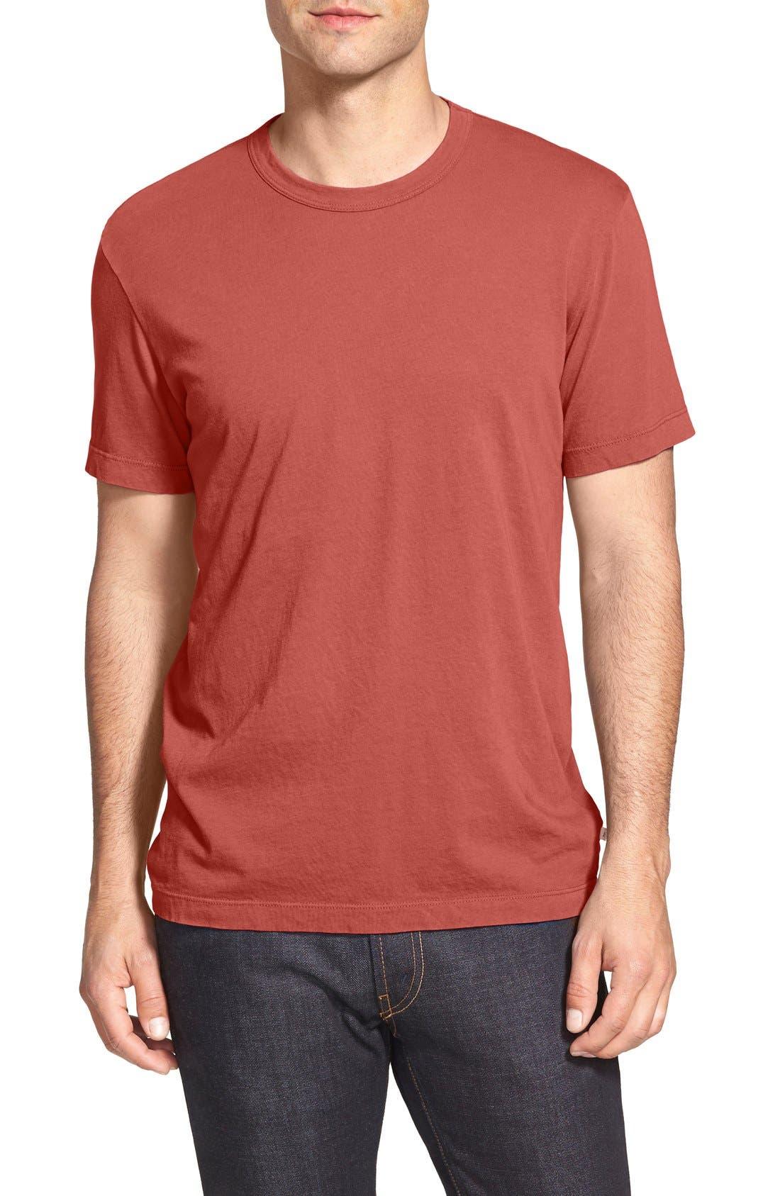 Crewneck Jersey T-Shirt,                             Main thumbnail 111, color,