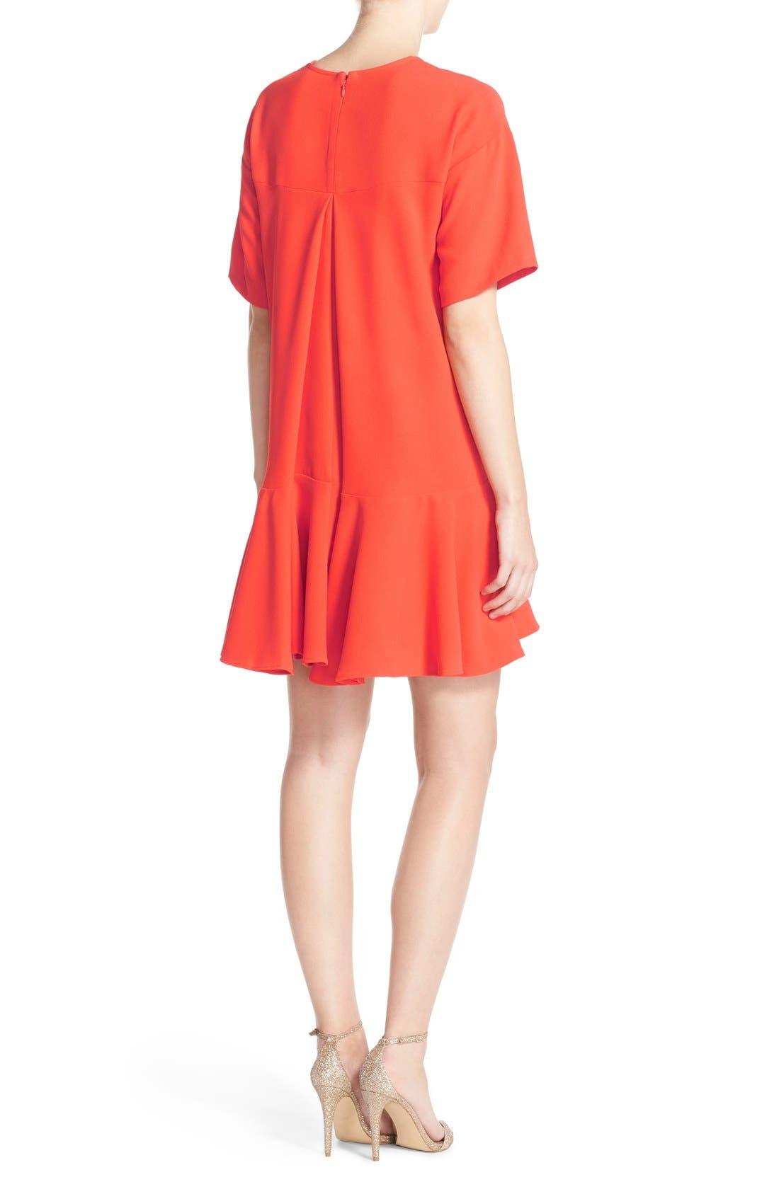 Drop Waist Knit Dress,                             Alternate thumbnail 6, color,
