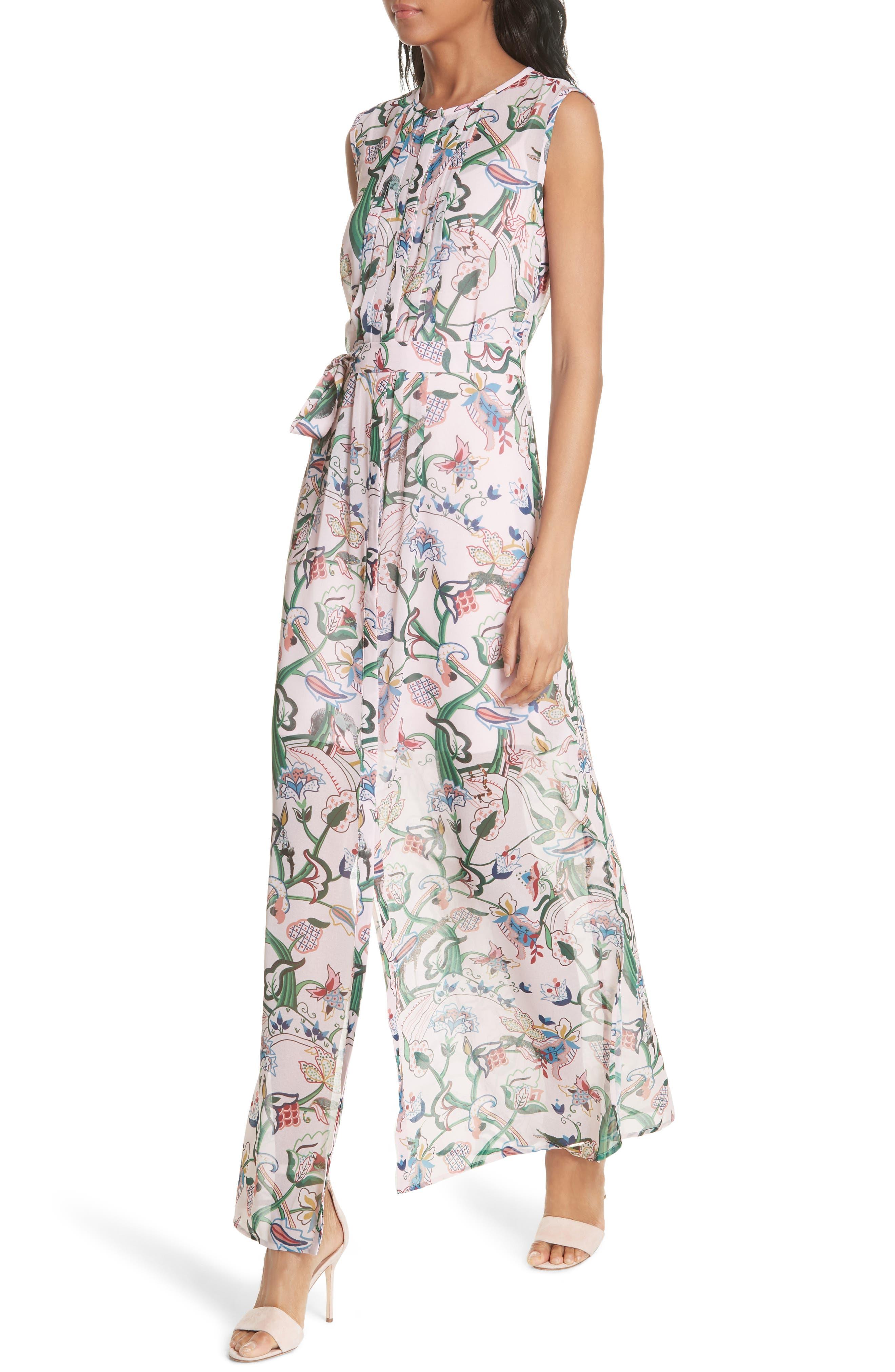 Susien Jungle Print Maxi Dress,                             Alternate thumbnail 4, color,