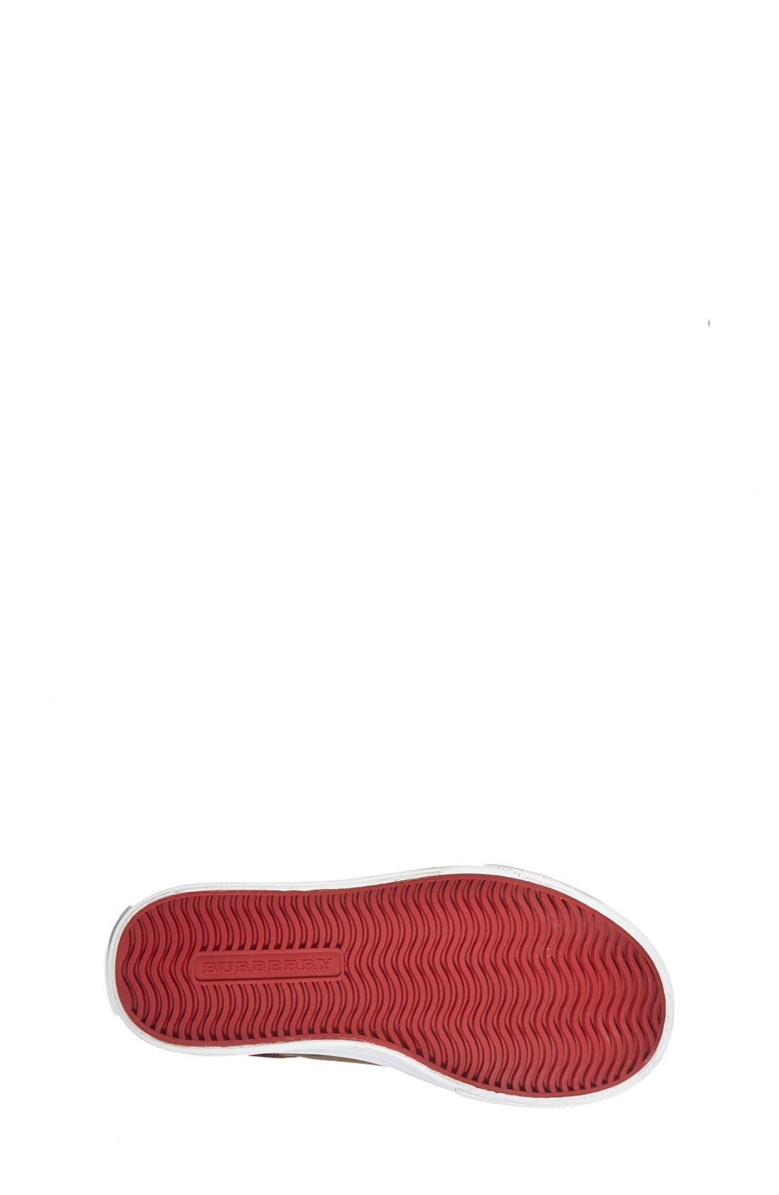 Mini Heacham Sneaker,                             Alternate thumbnail 4, color,                             PARADE RED