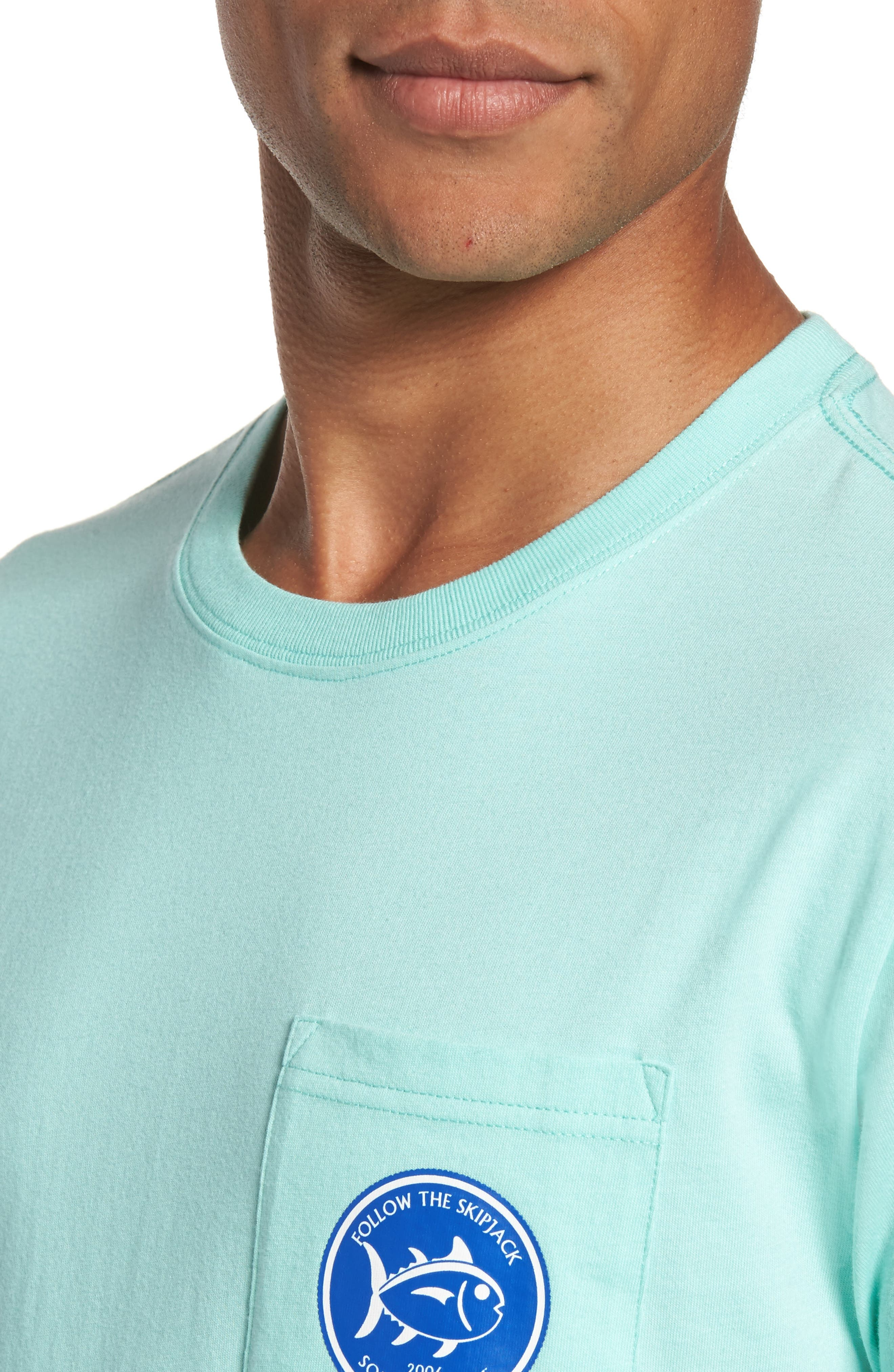 Classic Fit Quarters Master T-Shirt,                             Alternate thumbnail 4, color,                             376