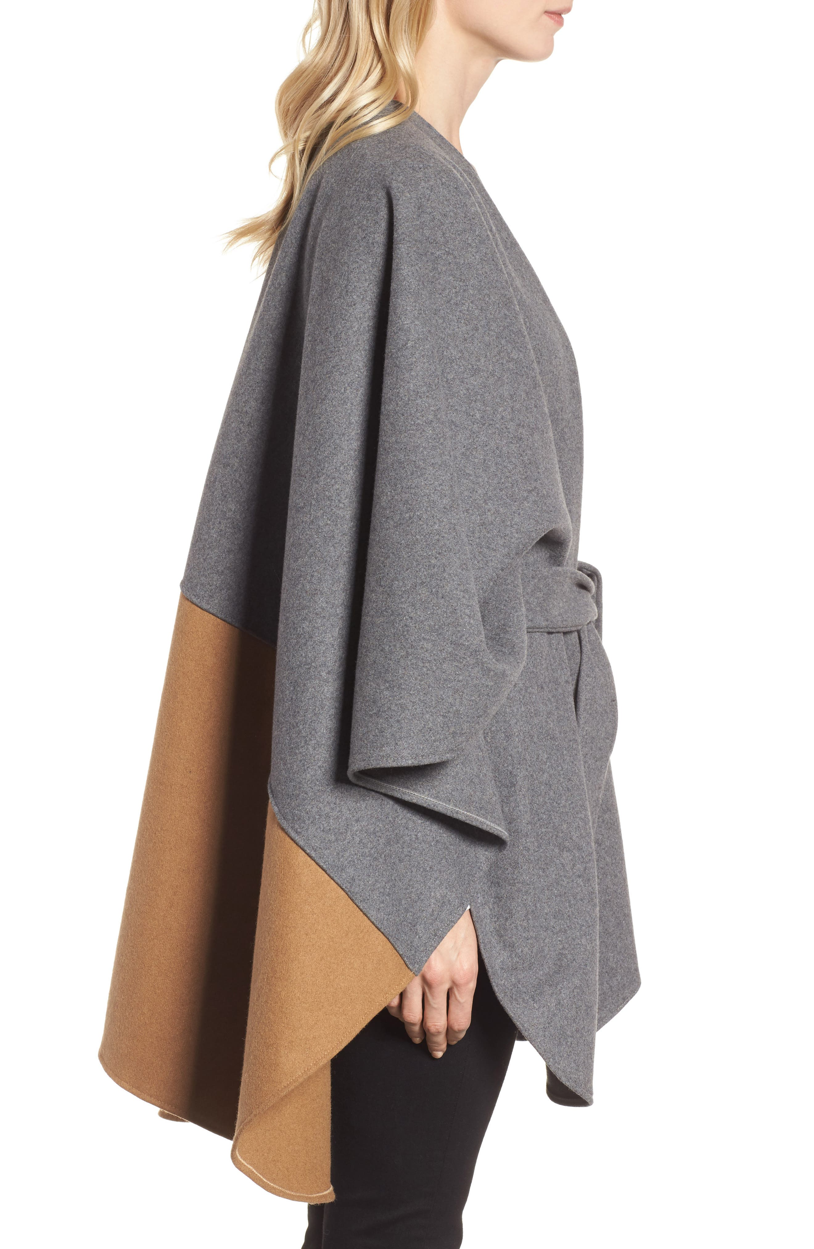 Duo Wonder Wool Cape,                             Alternate thumbnail 5, color,